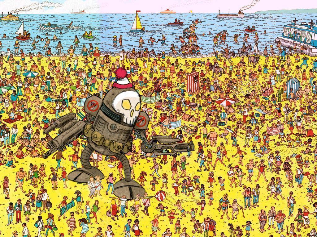 Find waldo beach the image kid has it for Where to find wallpaper