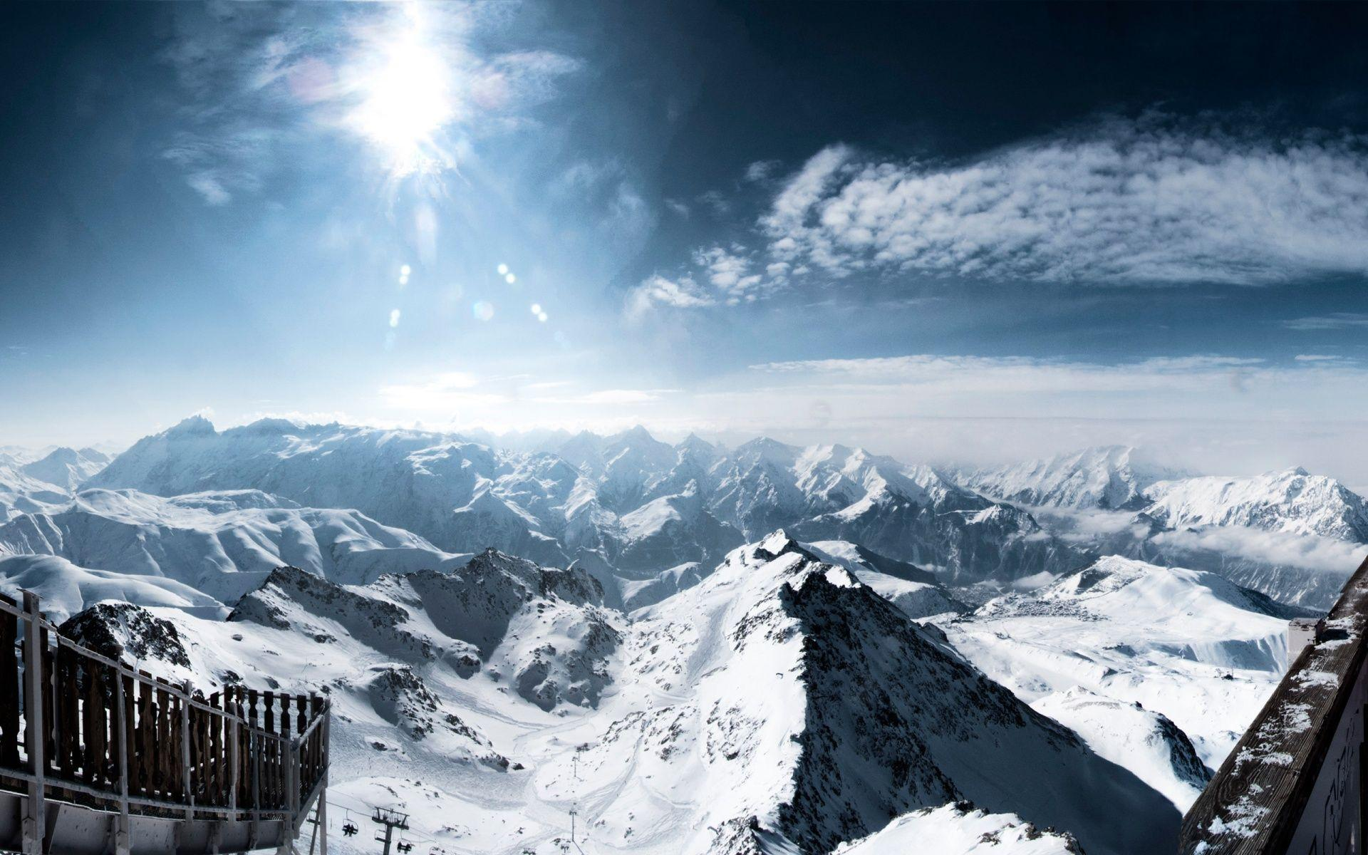 Central French Alps Wallpapers | HD Wallpapers