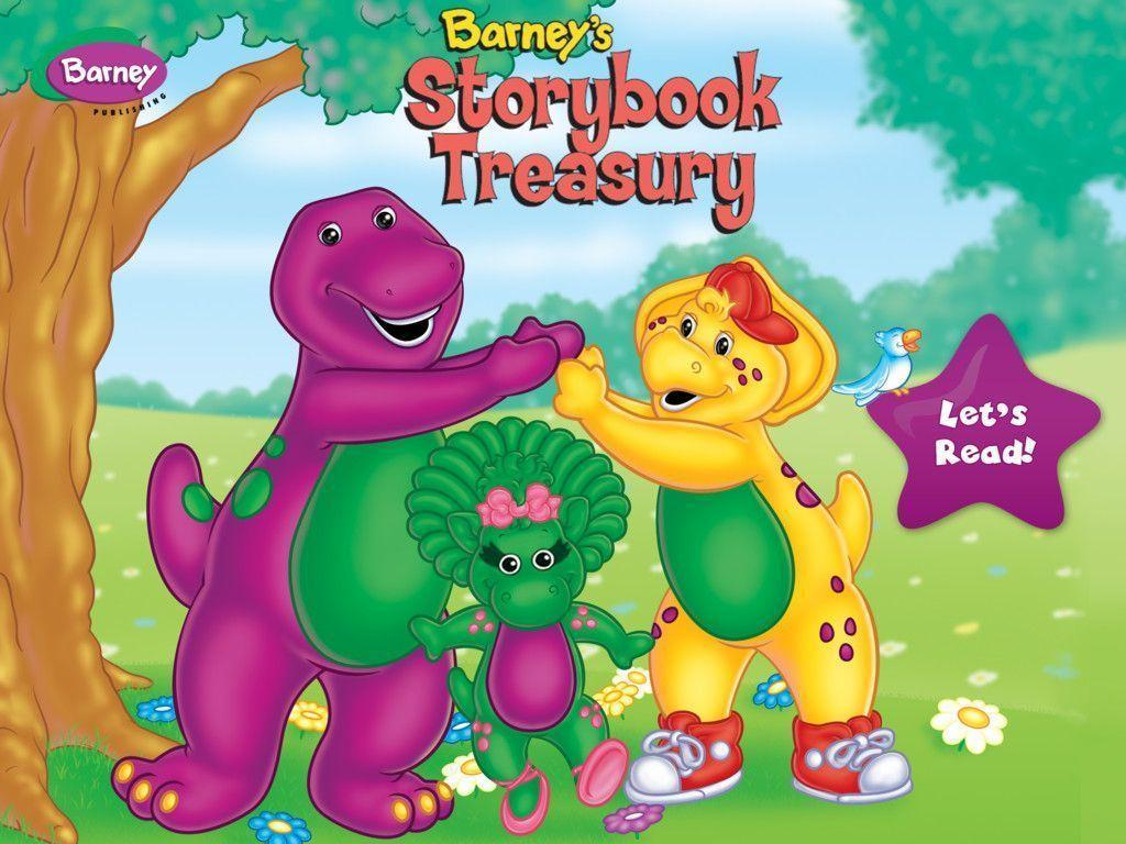 Image For > Barney Cartoon Wallpapers