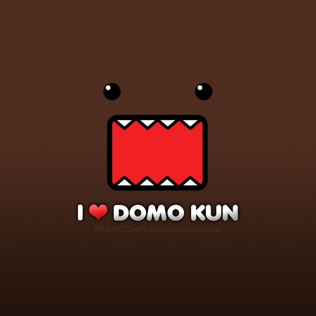 cute domo wallpapers wallpaper cave