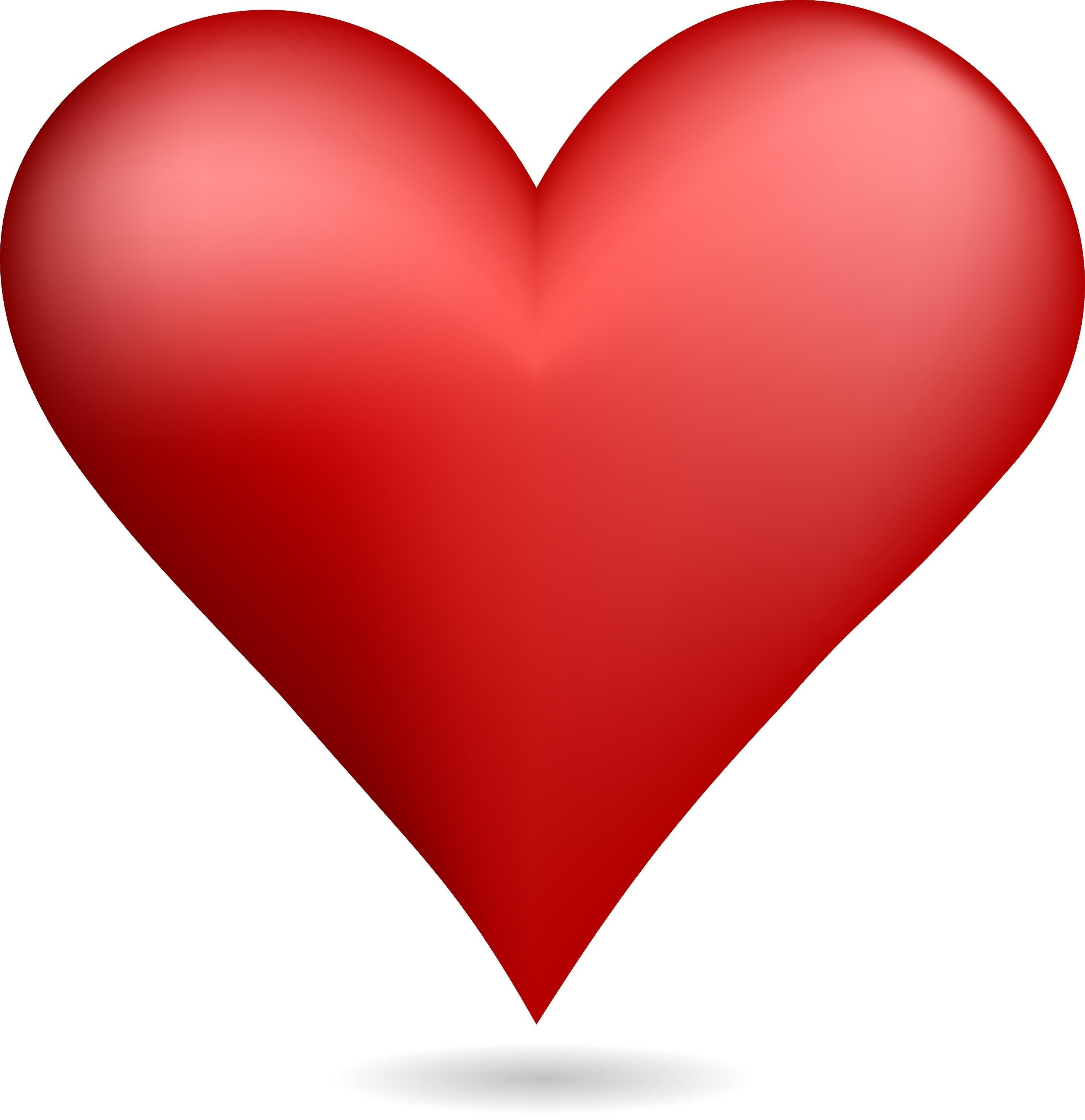 red animated hearts on - photo #4