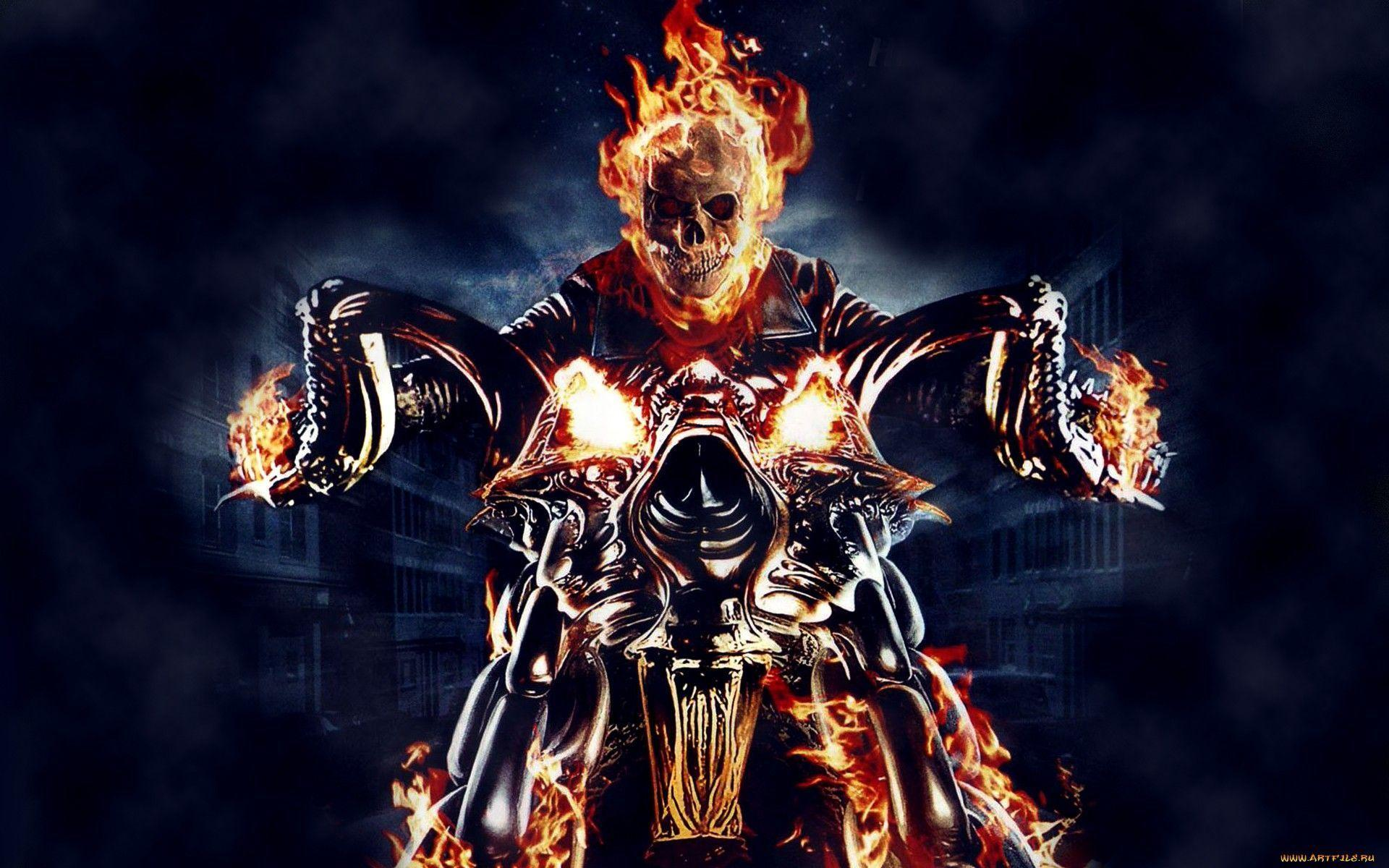 Wallpapers For > Ghost Rider Vs Ghost Rider Wallpapers