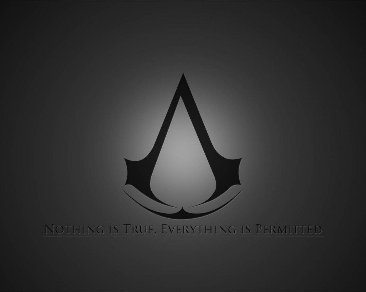 Download Assassin&Creed Logo Wallpapers in 1280x1024 Resolution