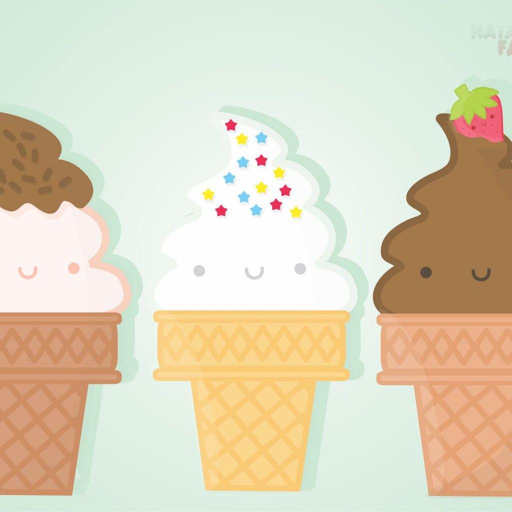 Ice Cream Cone Wallpaper: Cute Ice Cream Wallpapers