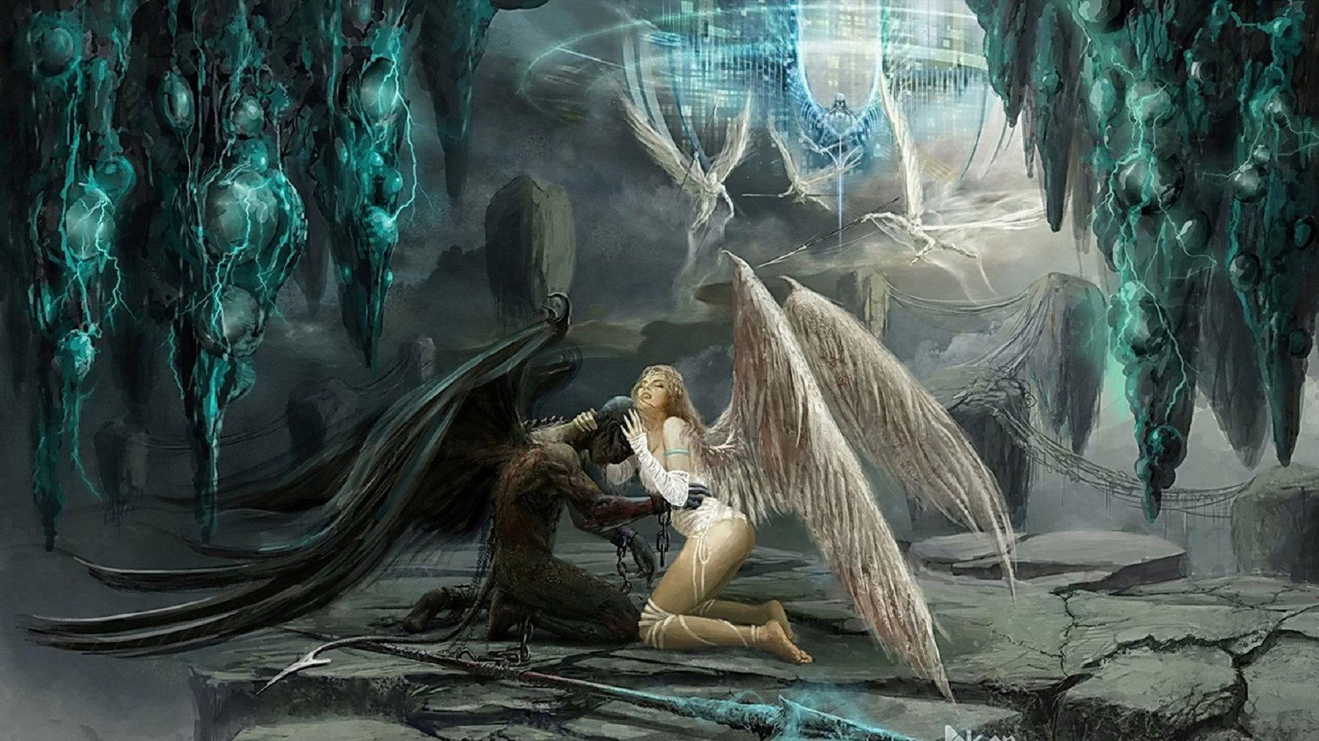 fallen angels wallpapers   wallpaper cave