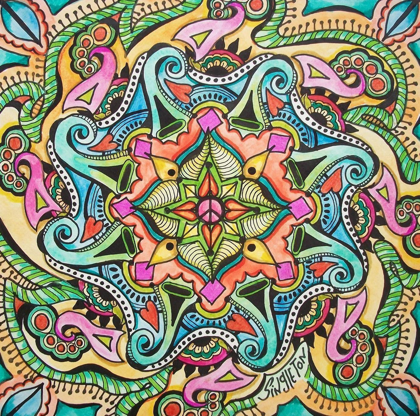 wallpapers hippie mandala - photo #14