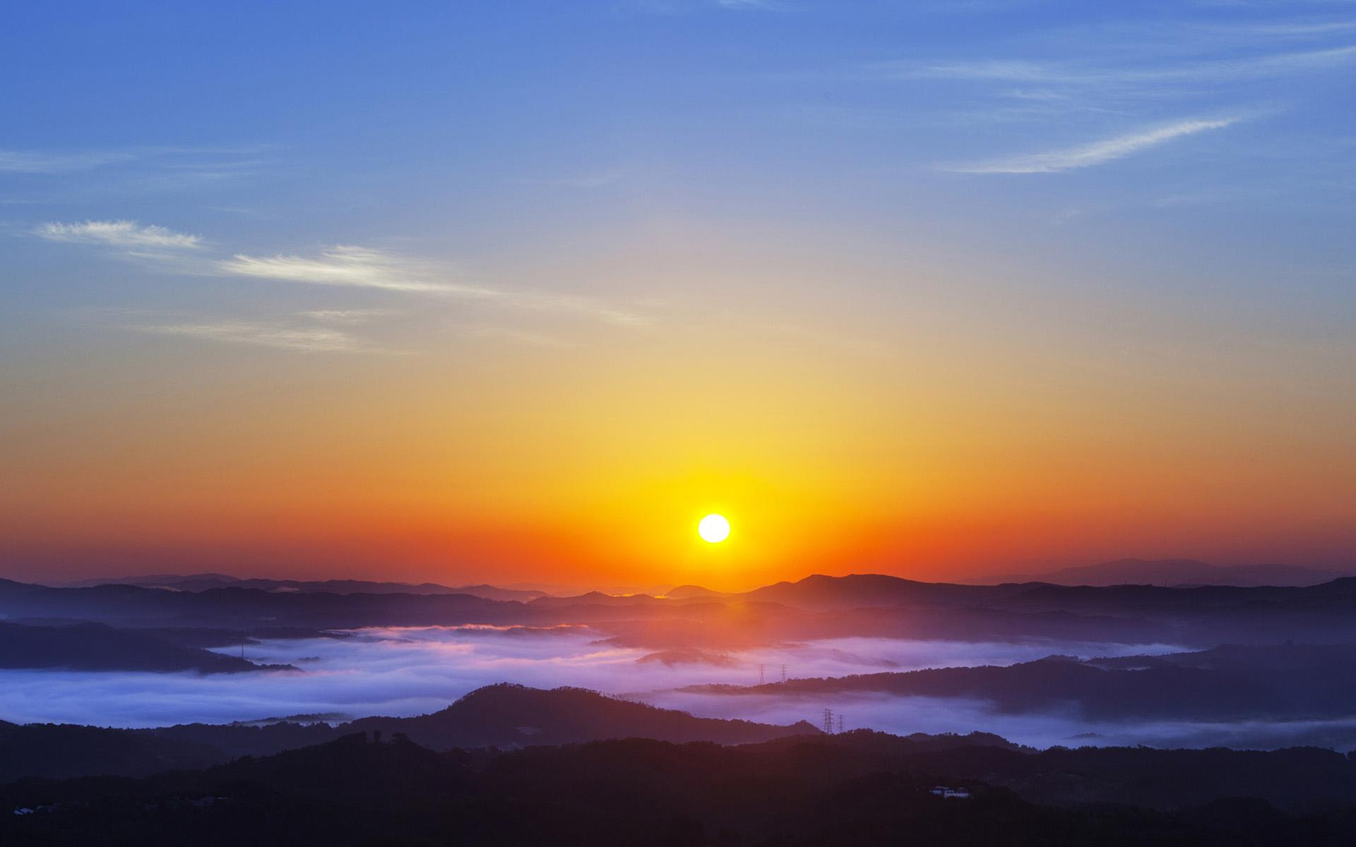 Sunrise Wallpapers For Desktop - Wallpaper Cave