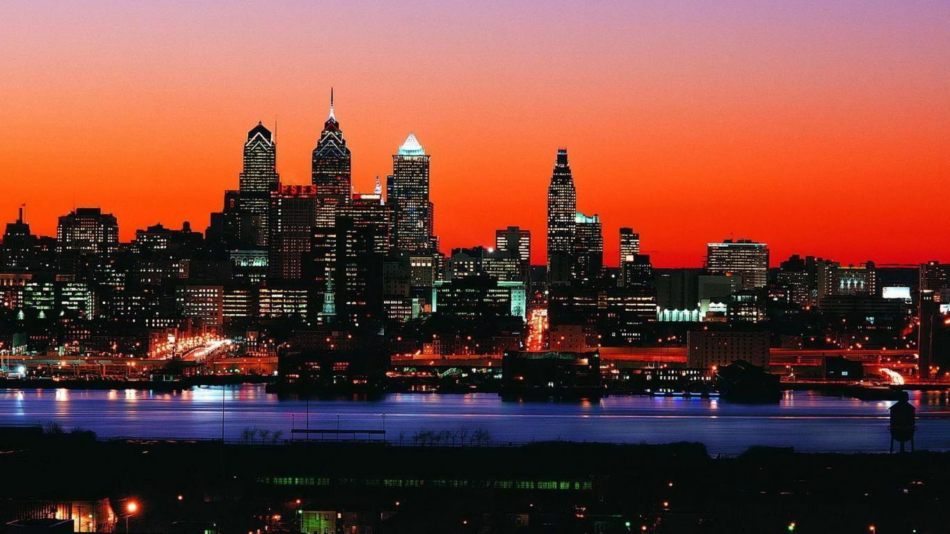 philadelphia skyline wallpaper - photo #2