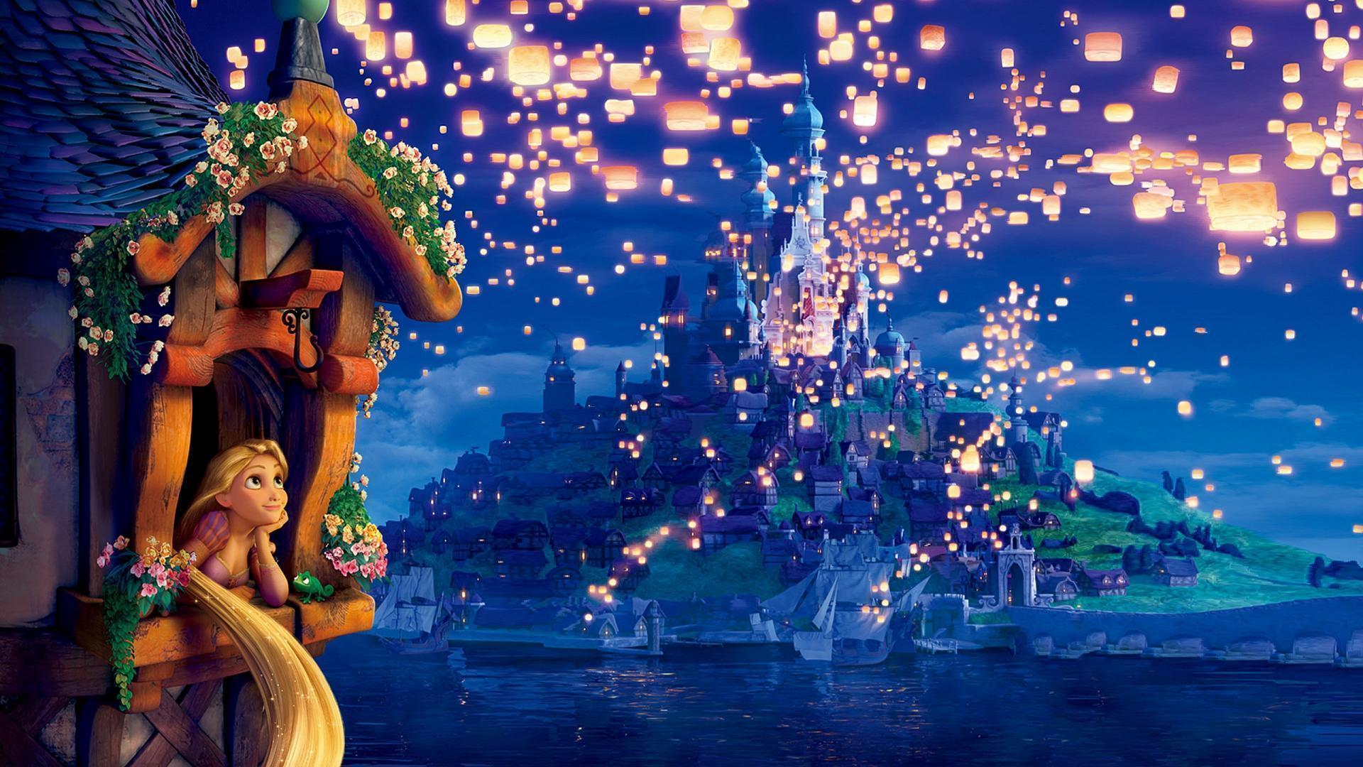 Disney tangled wallpapers wallpaper cave - Rapunzel wallpaper ...
