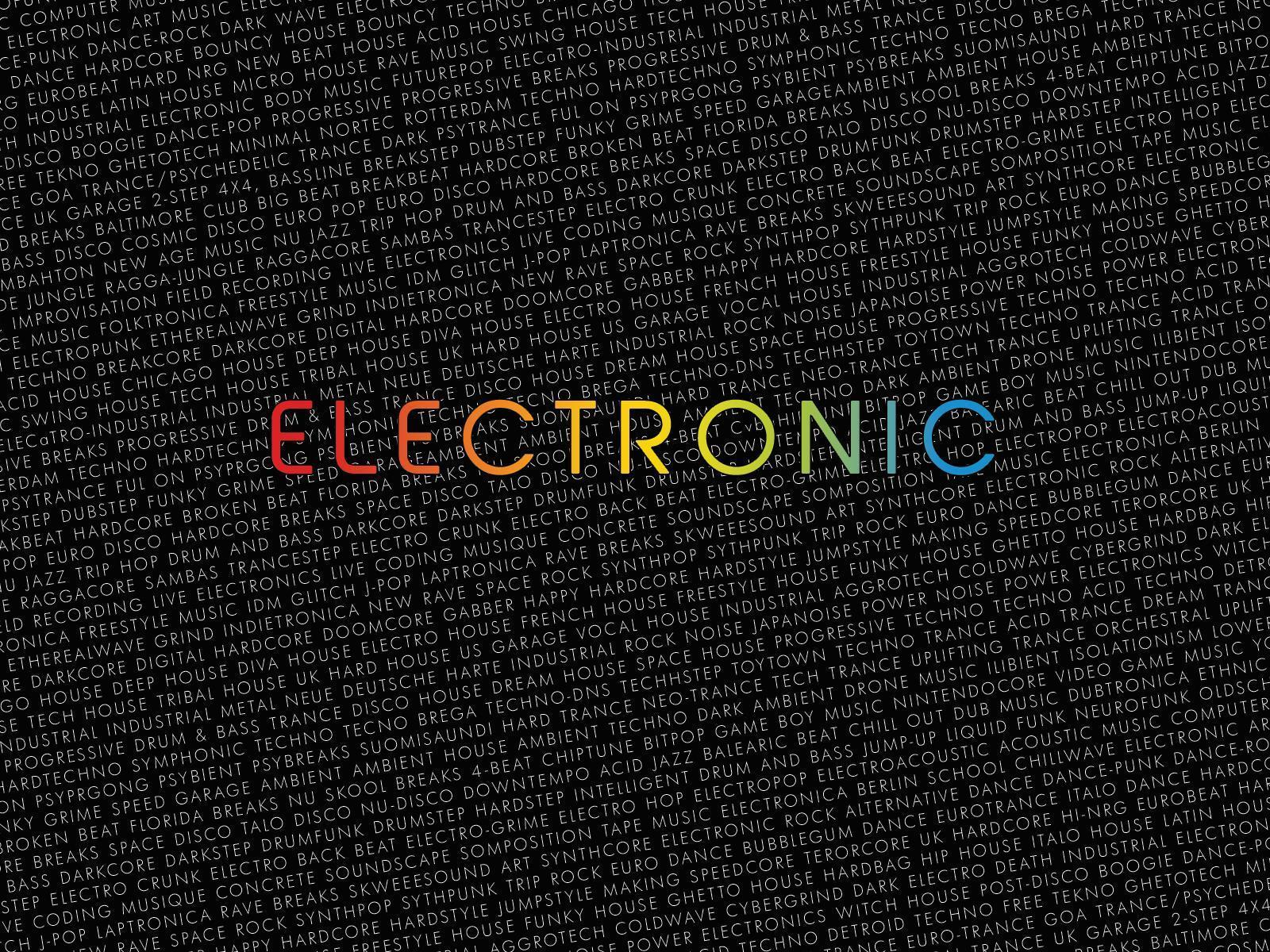 Wallpapers For > Electronic Music Wallpaper