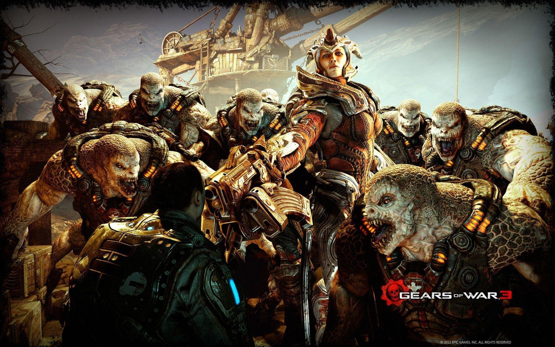 Gears Of War 3 Wallpapers Hd Wallpaper Cave