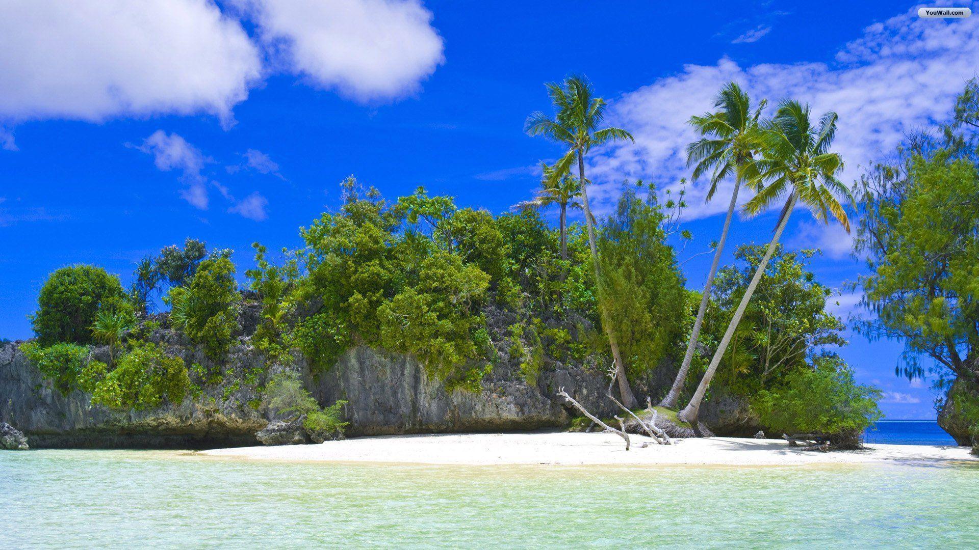 Tropical Island Beach Ambience Sound: Tropical Island Desktop Backgrounds
