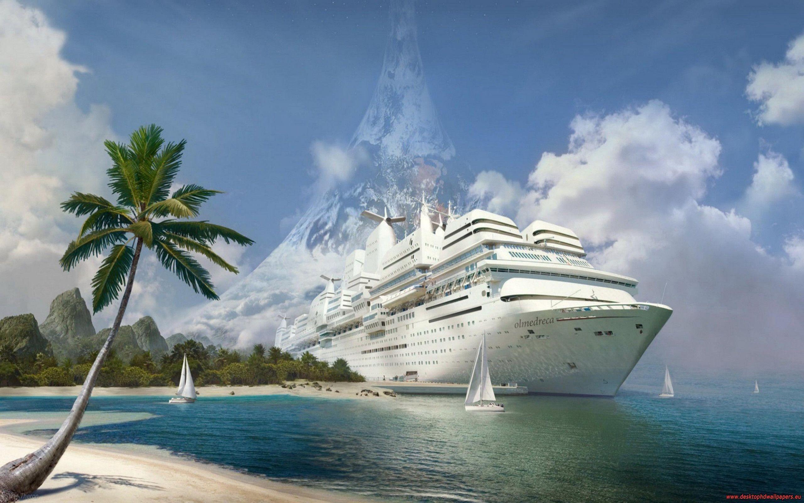 cruise ship wallpaper background - photo #14