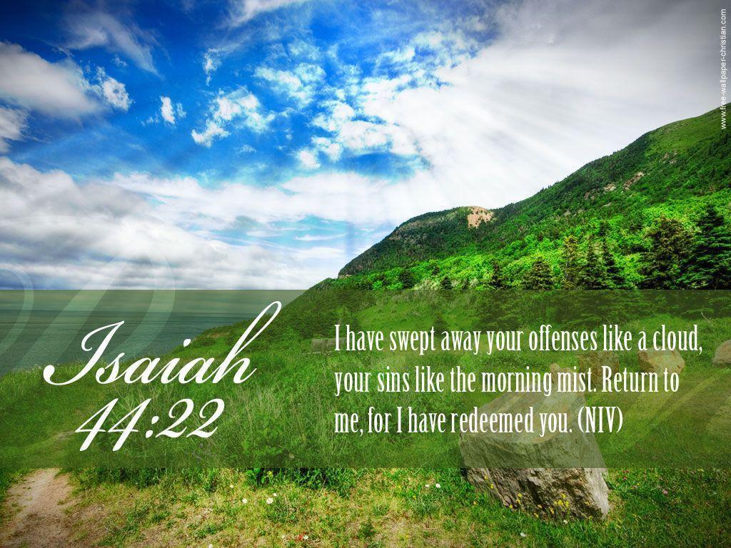 Download Desktop Bible Verse Isaiah Free Christian Wallpaper