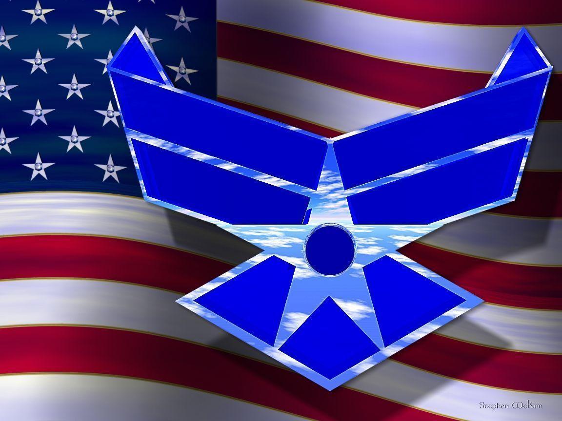 air force logo wallpapers wallpaper cave