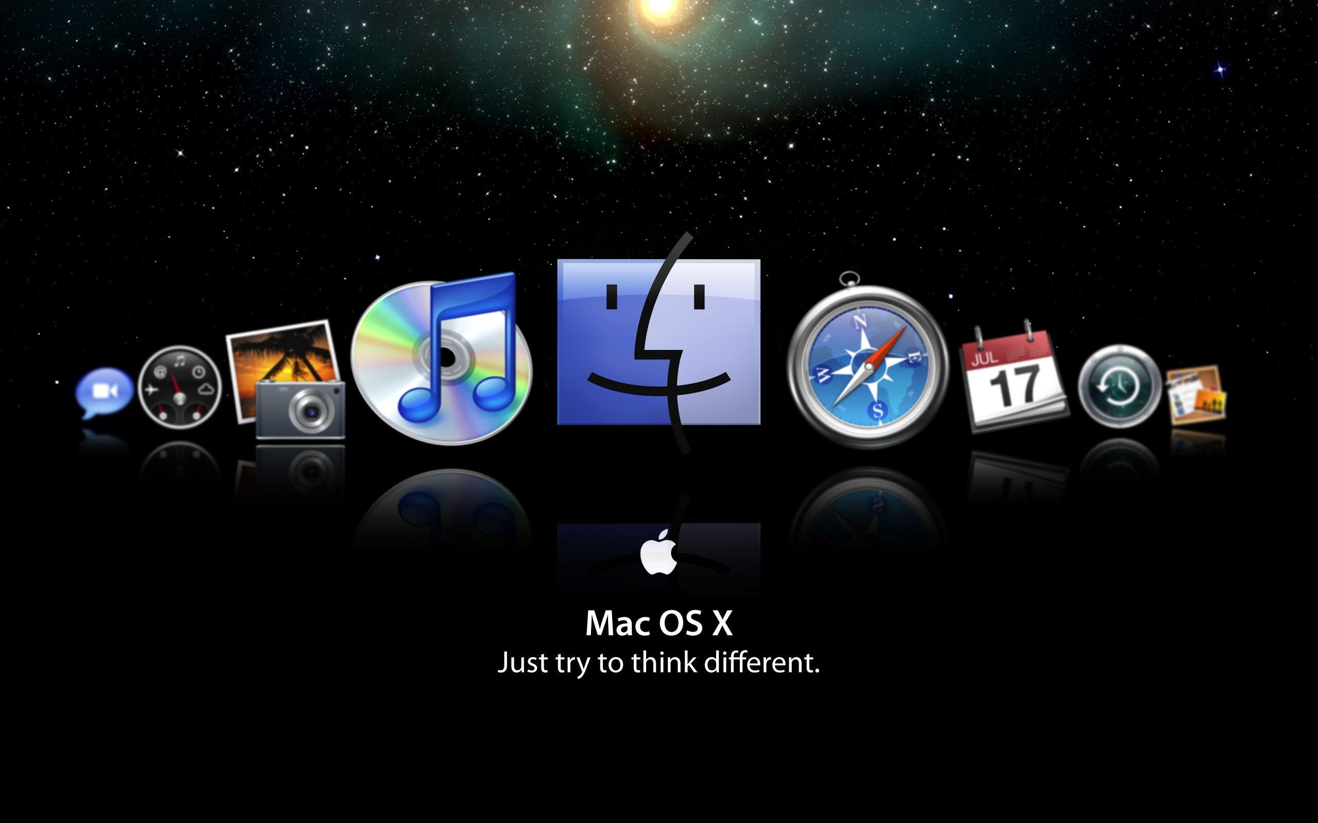 how to change desktop background mac os x