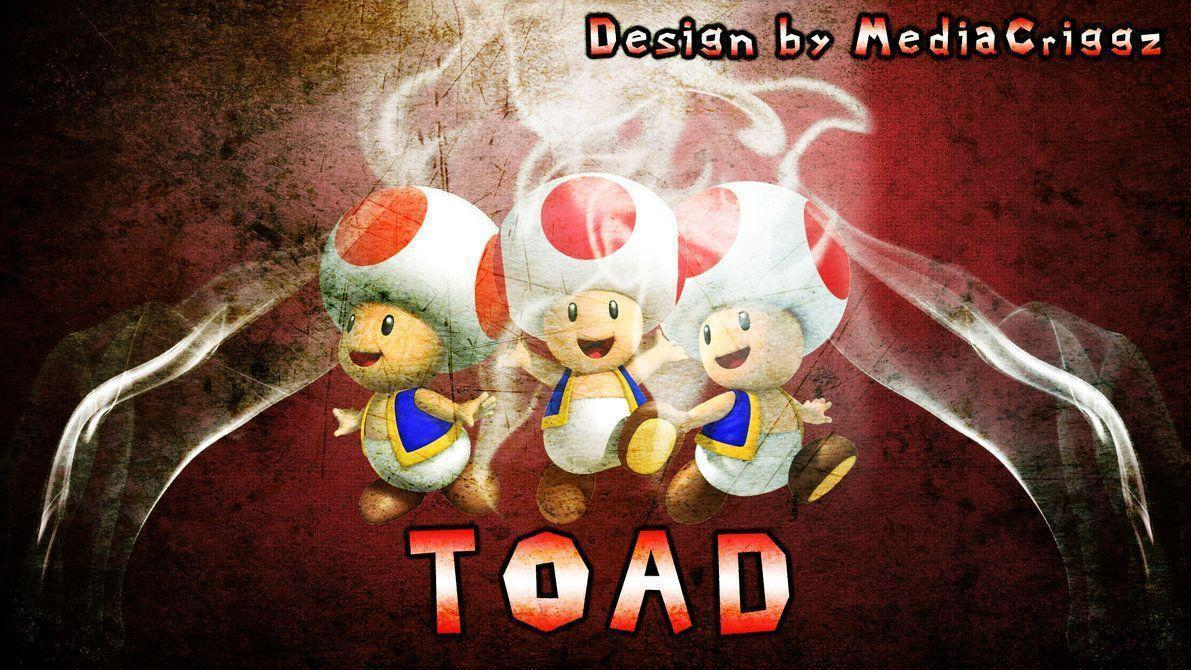 Toad Wallpapers by MediaCriggz