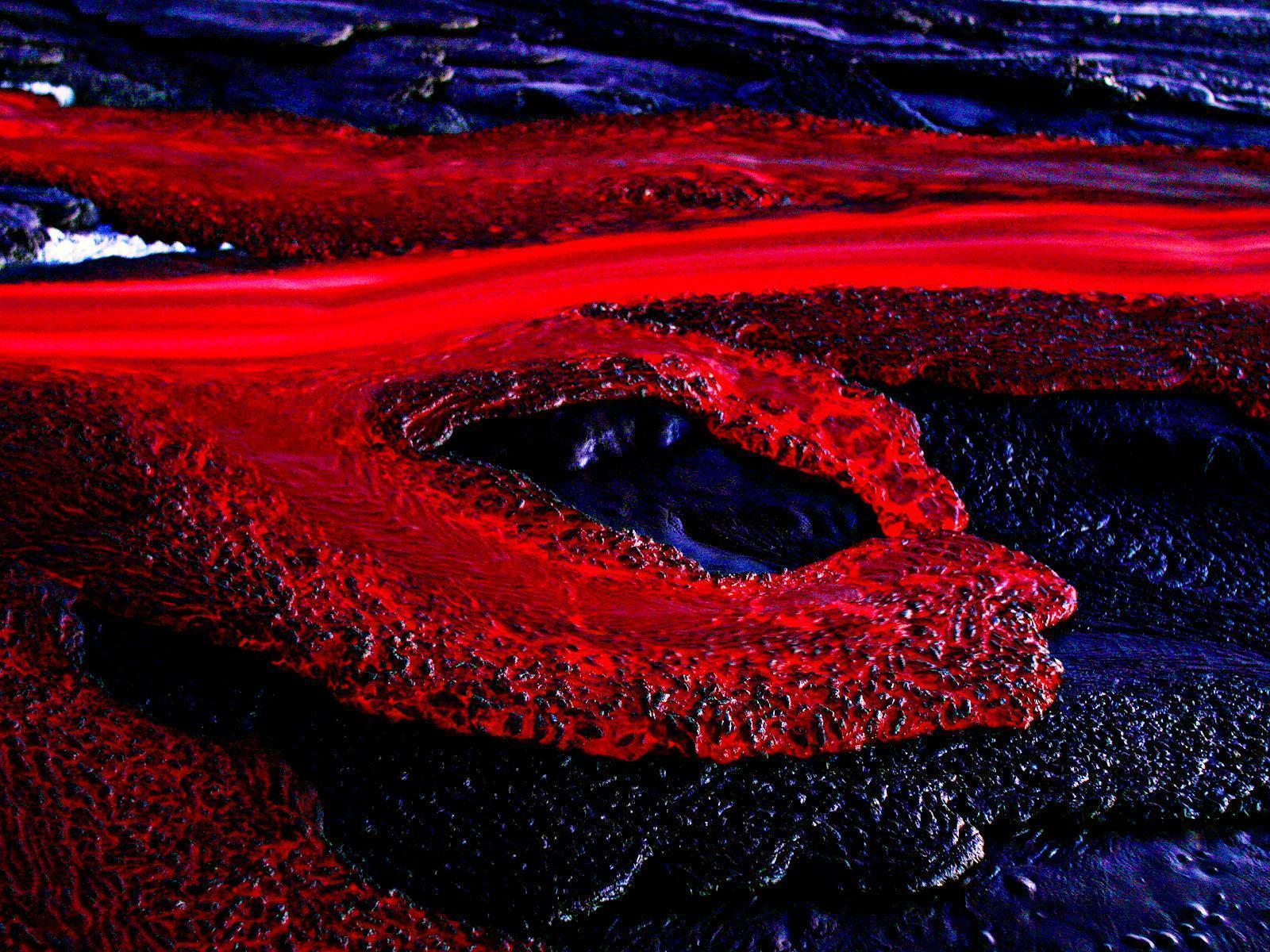 Download Wallpaper x Eruption Lava Volcano Oriental