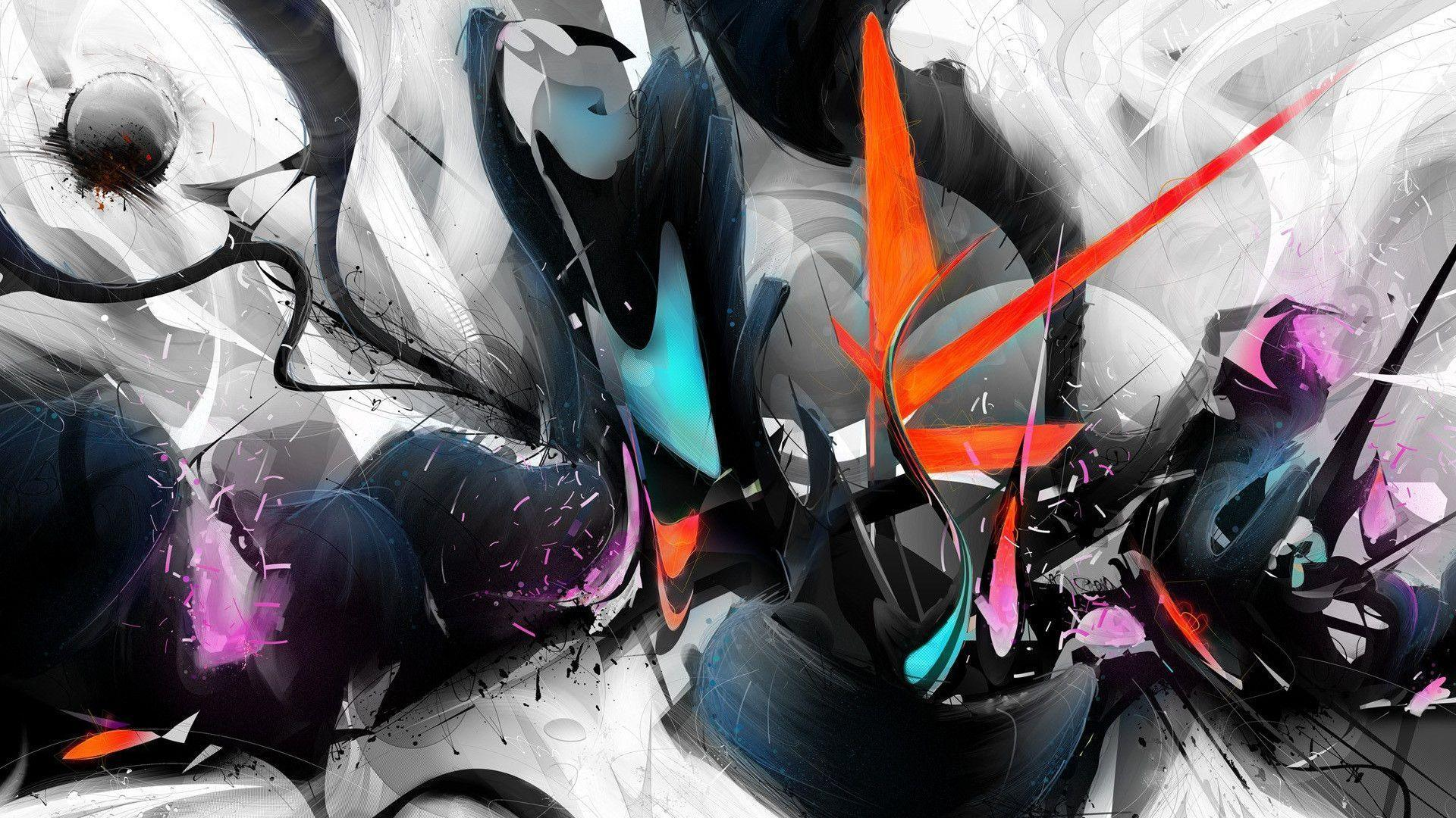 Cool Abstract Art Designs Hd Wallpaper Background Images: Street Art Wallpapers