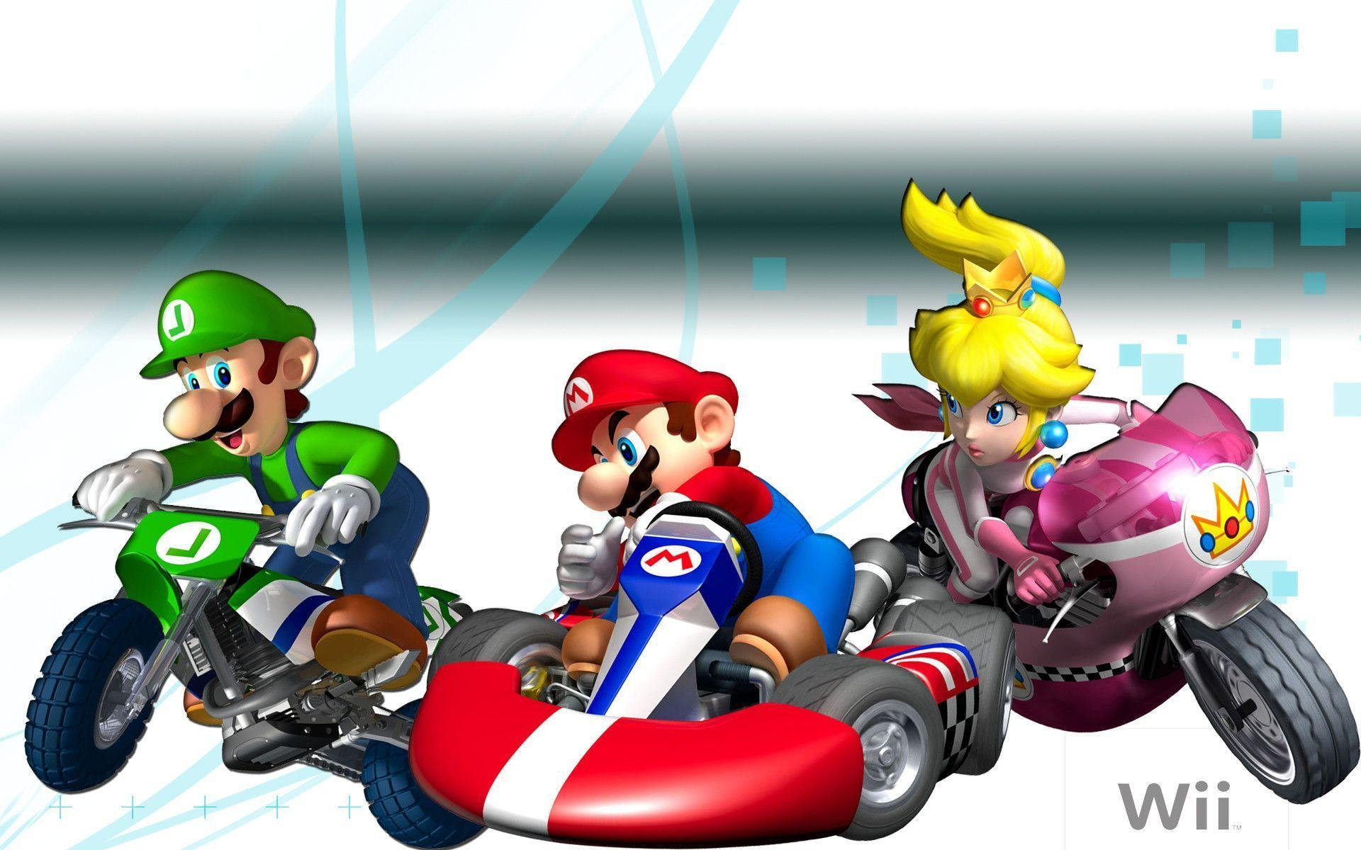 mario kart wii wallpapers wallpaper cave. Black Bedroom Furniture Sets. Home Design Ideas