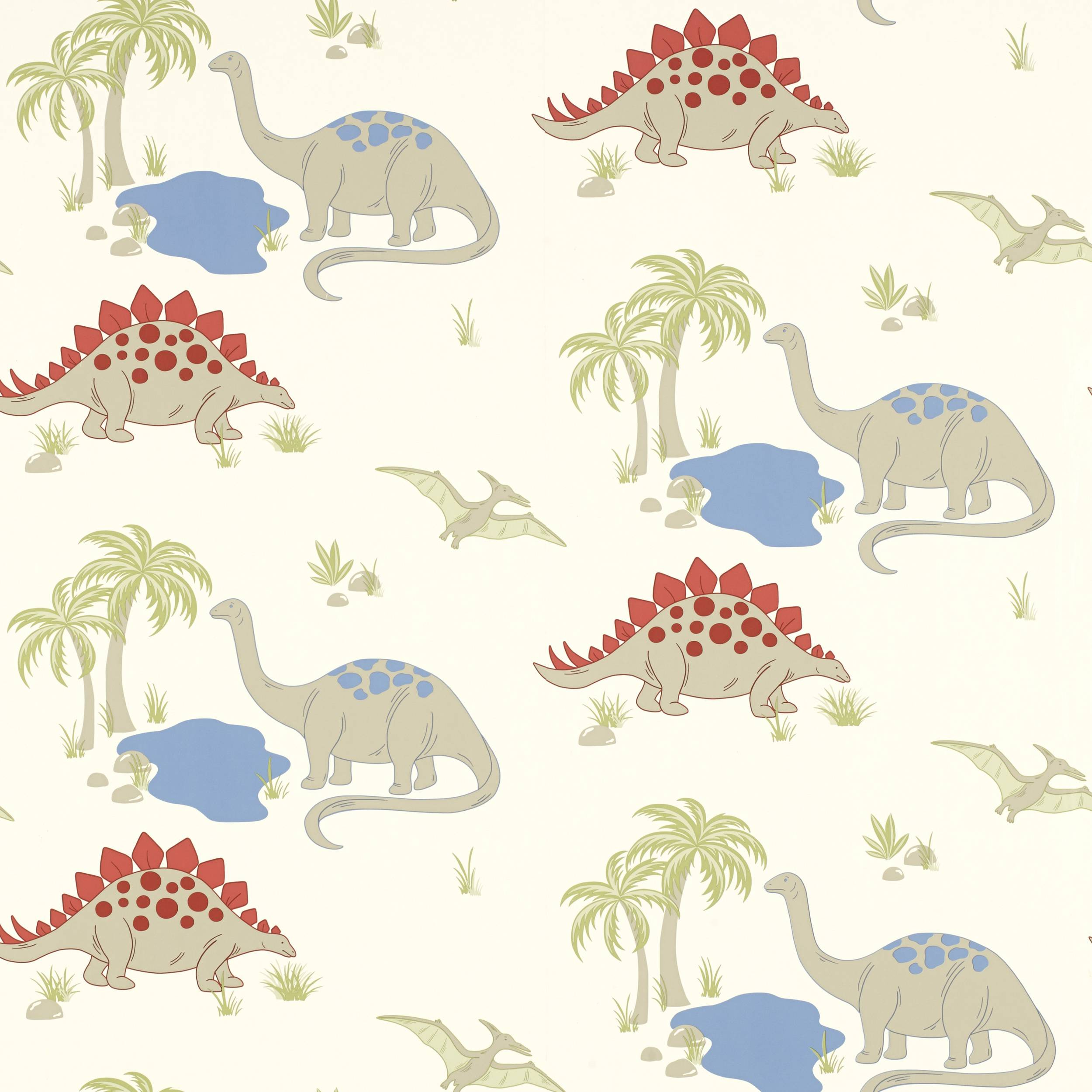 Dino wallpapers wallpaper cave for Kids dinosaur fabric