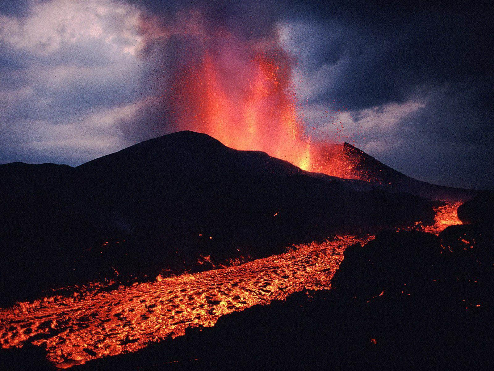 volcano eruption wallpaper hd - photo #2