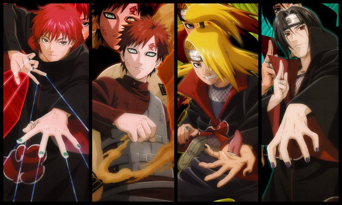 Naruto Gaara Wallpapers - Wallpaper Cave
