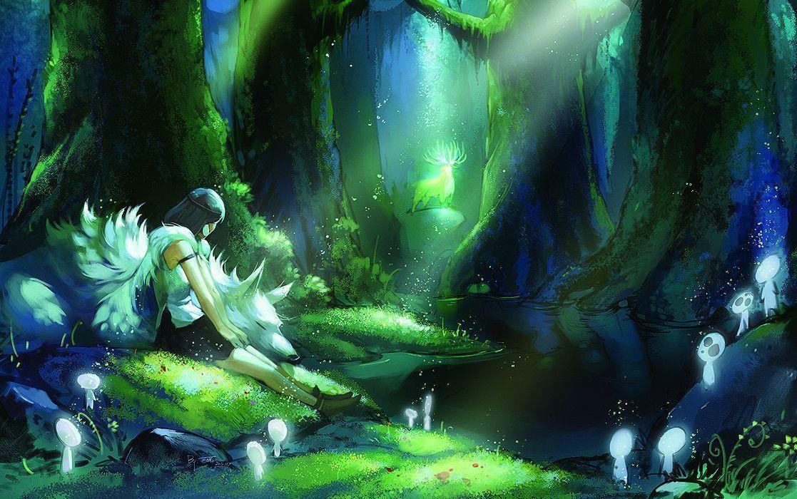 Mononoke Hime Wallpapers - Wallpaper Cave