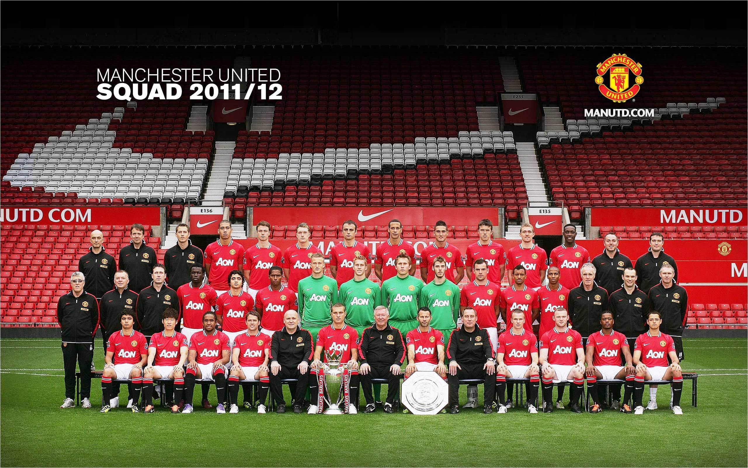 Manchester United 2011 2012 player football image wallpapers PC