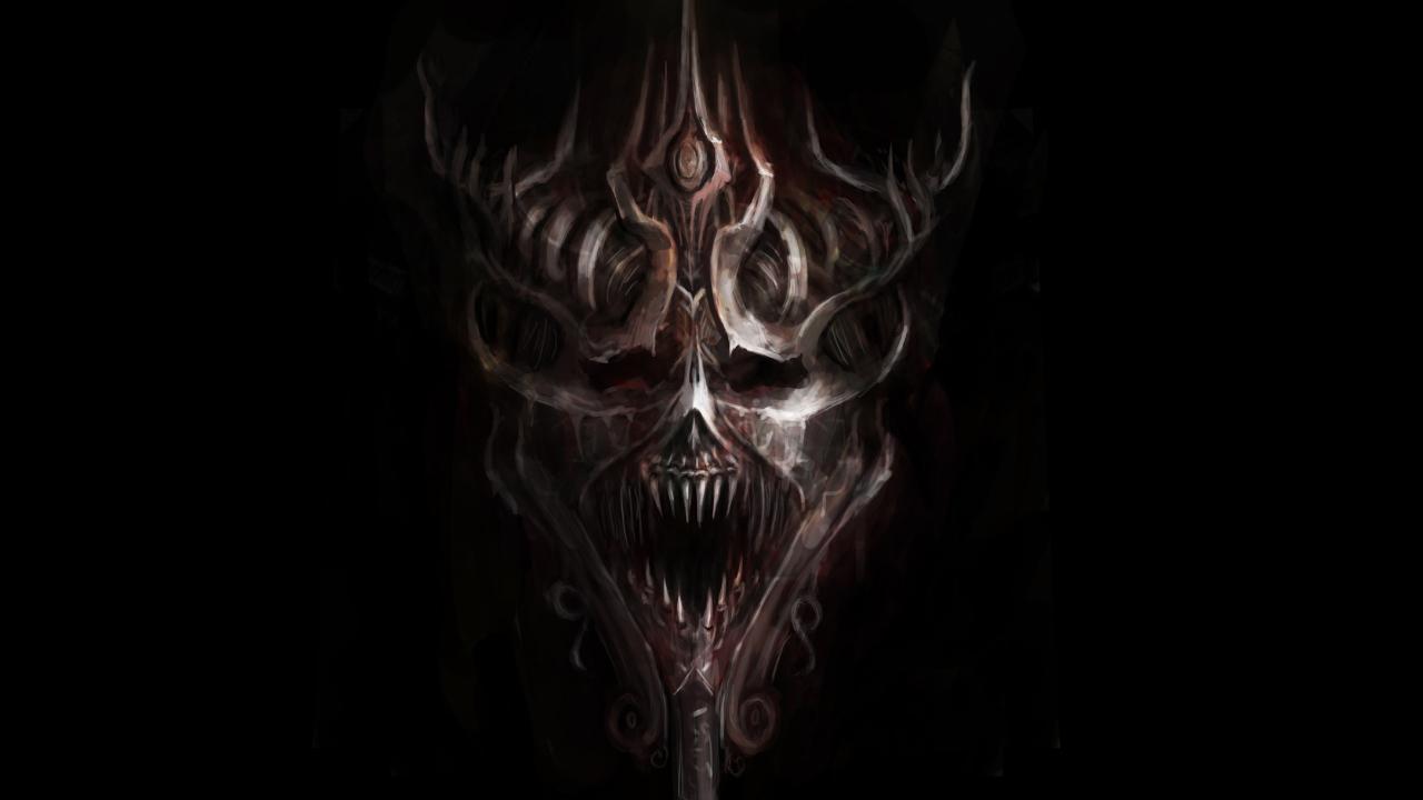Hd wallpaper evil - Download The Evil Skulls Hd Live Wallpaper Android Apps On