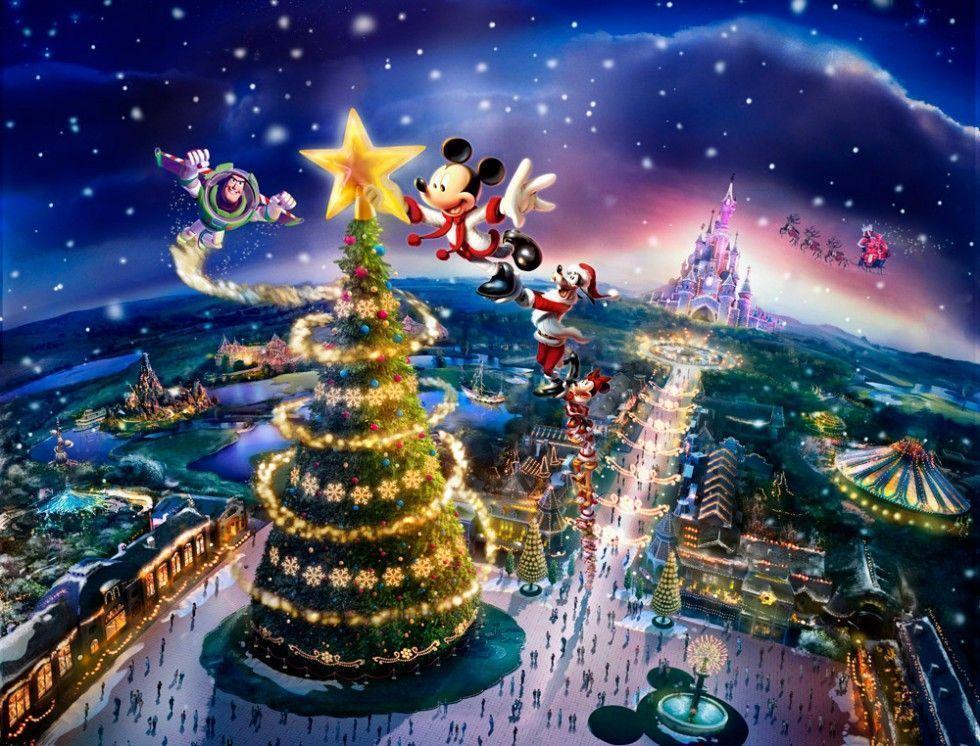 disney world christmas wallpaper backgrounds - photo #35