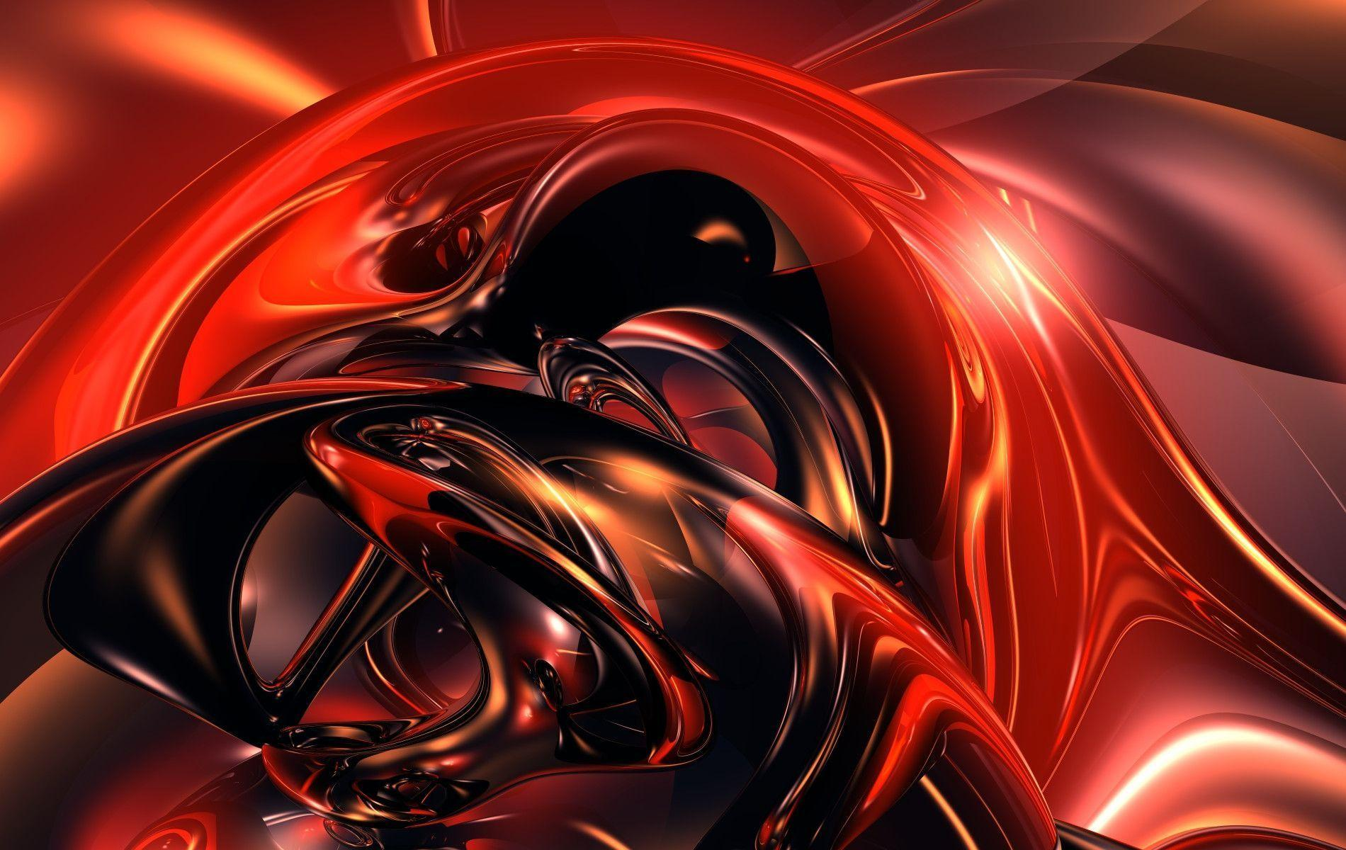 Cool Red Abstract Wallpapers