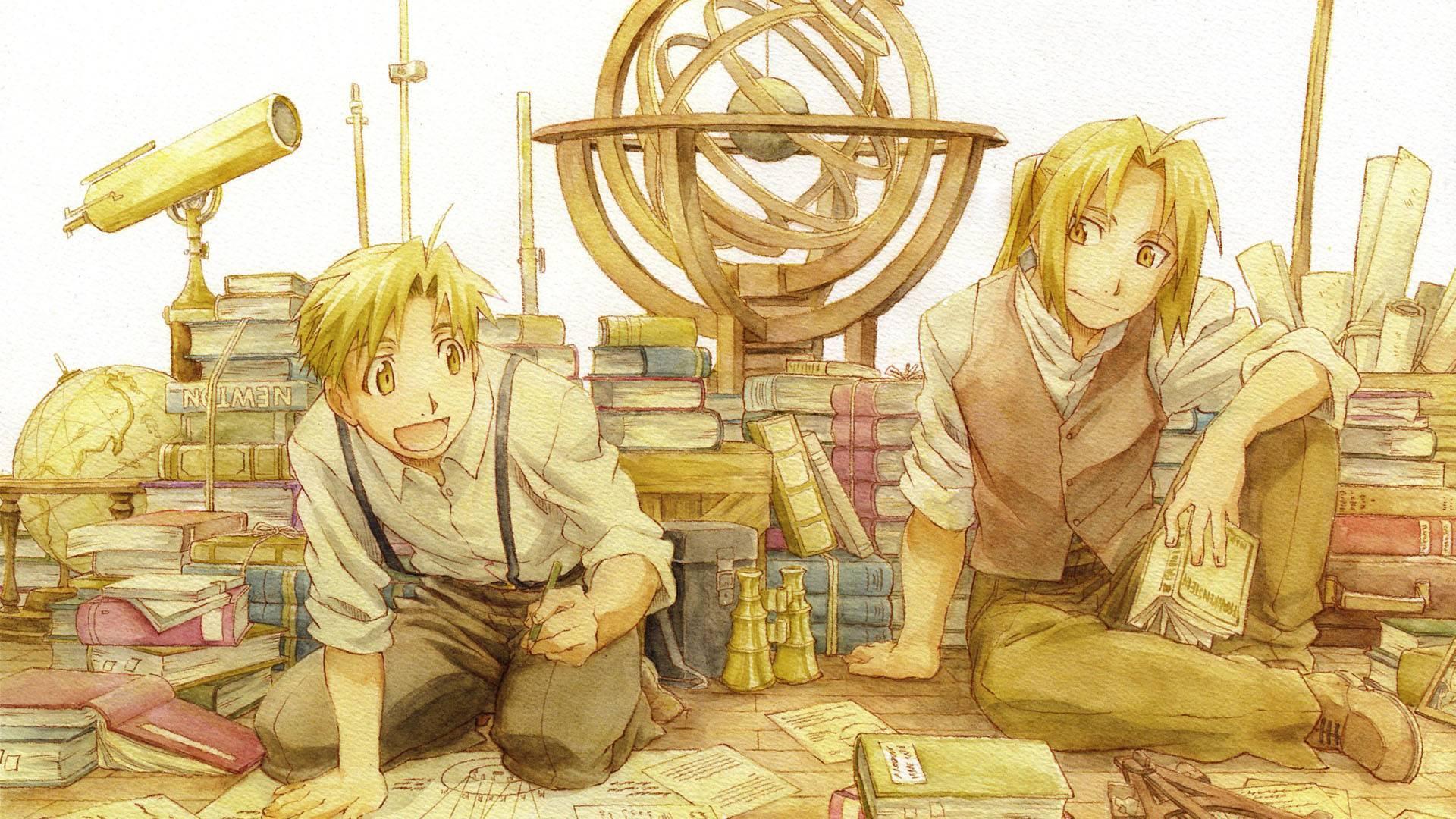 Fullmetal Alchemist: Brotherhood - Anime Wallpapers HD 4K ...
