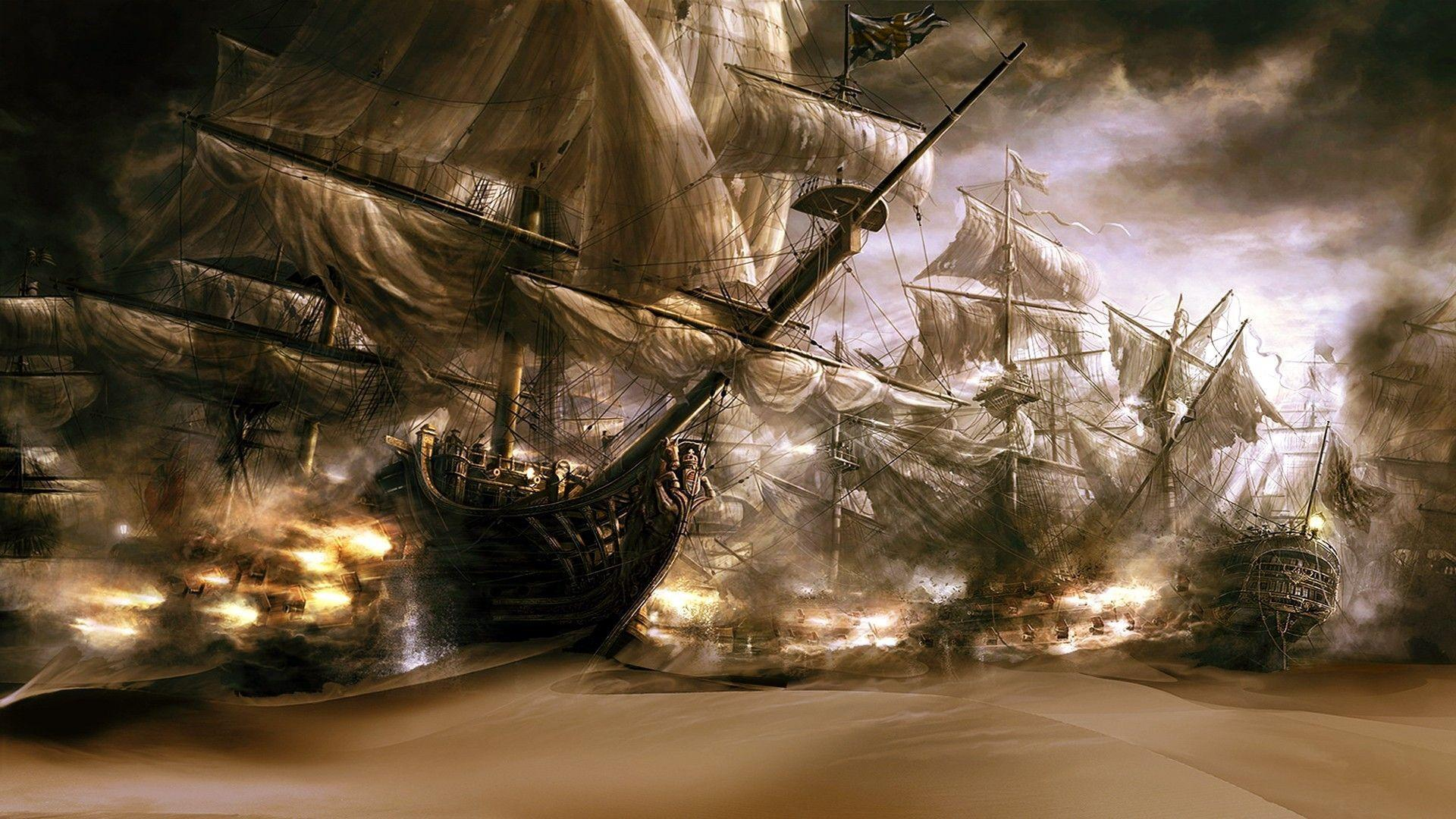 pirate ship computer wallpapers - photo #22