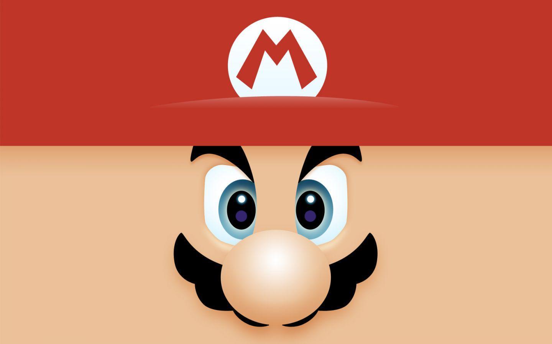 Mario Face Wallpaper 1440×900 - Super Mario Wallpapers