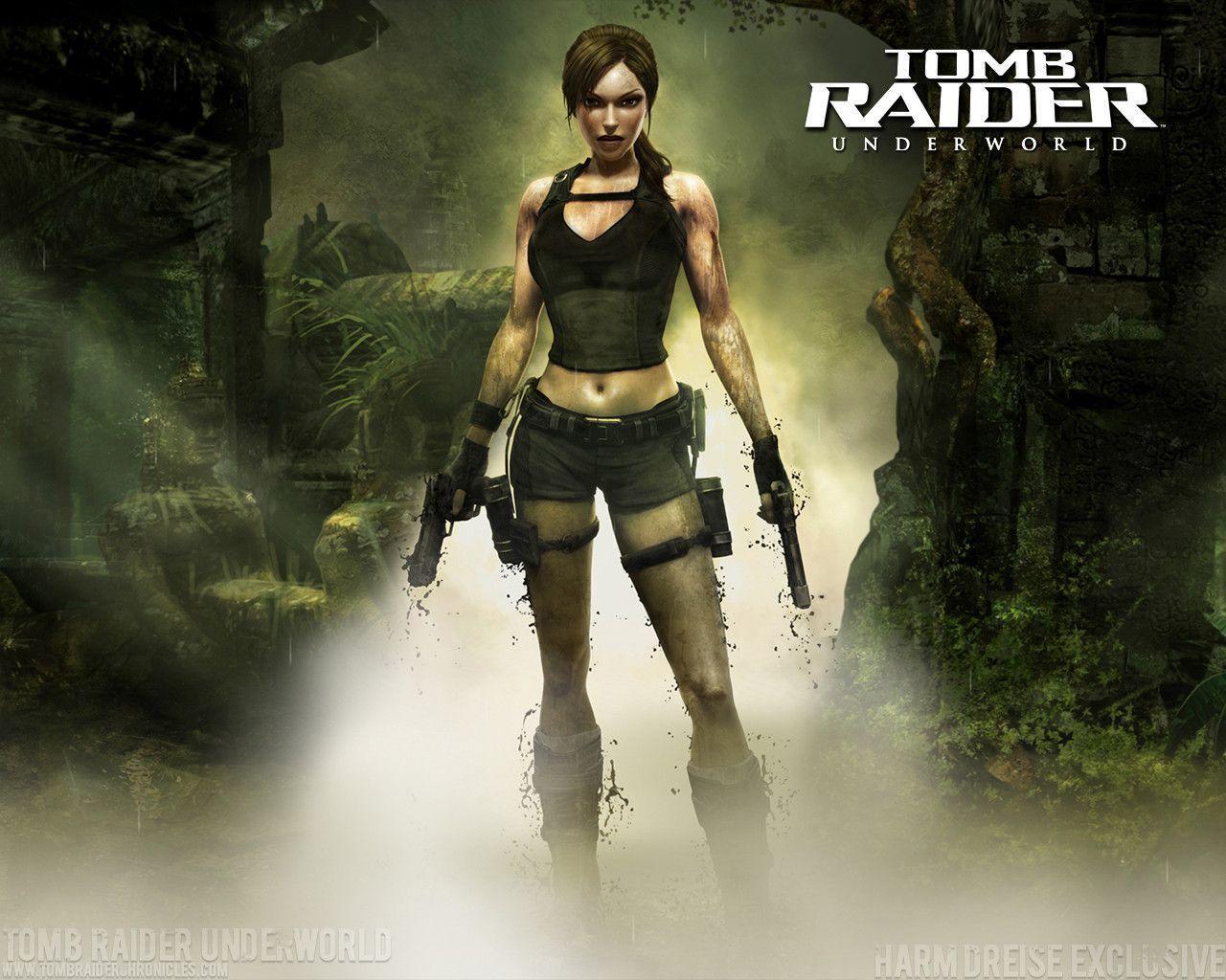 Lara Croft Tomb Raider Wallpapers Wallpaper Cave