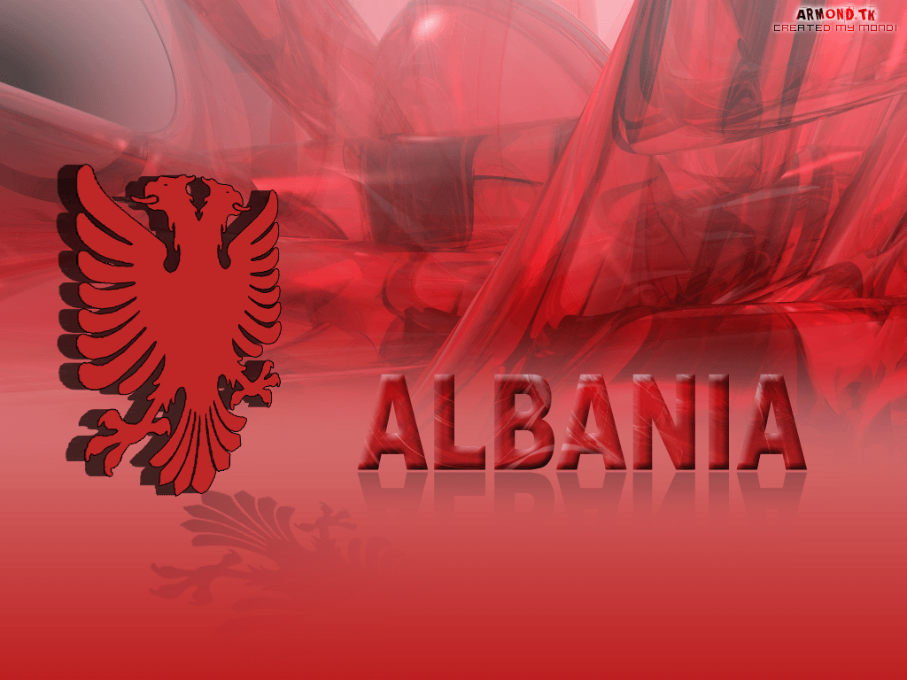 how to draw albanian flag