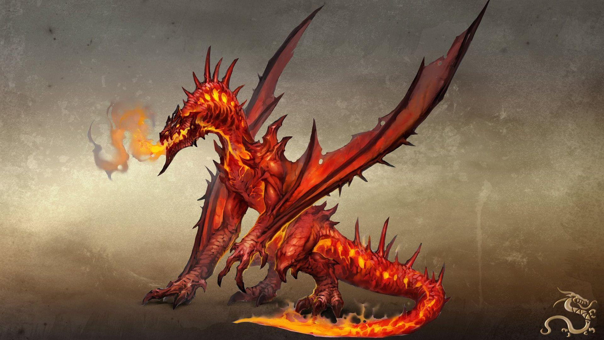 red dragons wallpaper - photo #22