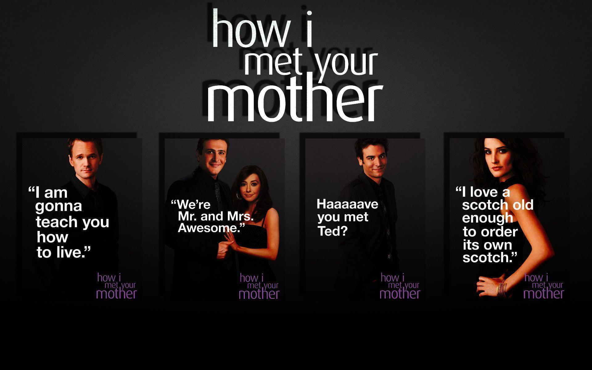 How i met your mother wallpaper