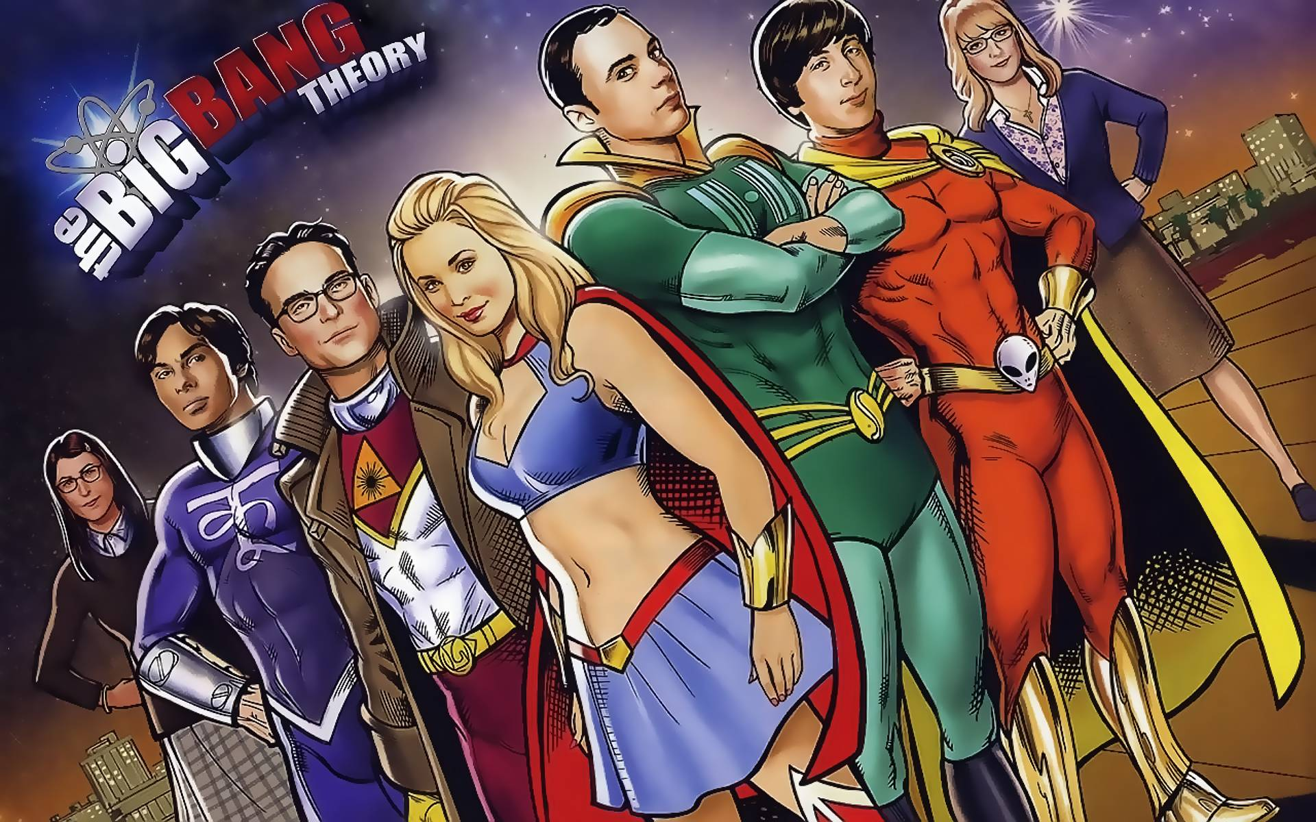 The Big Bang Theory 5 HD wallpapers - Movie Wallpapers