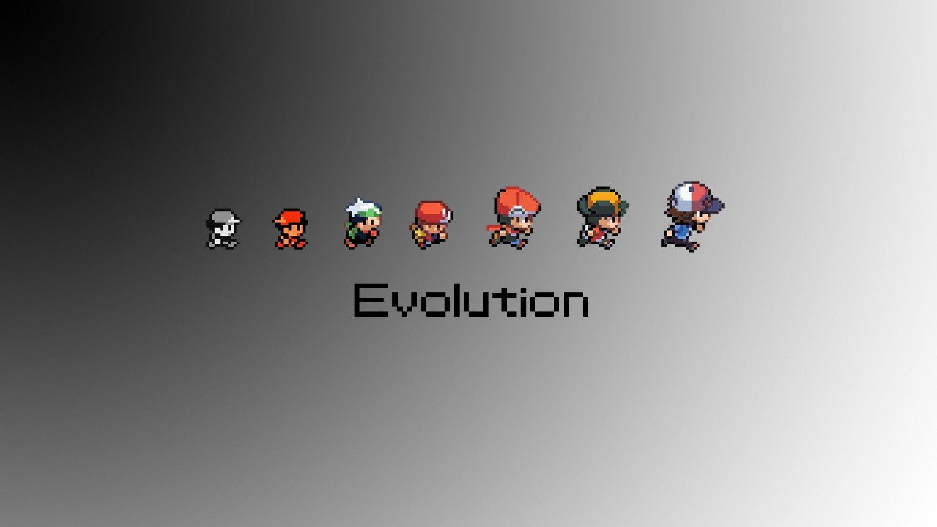 Download Pokemon Minimalistic Wallpapers 1920x1080