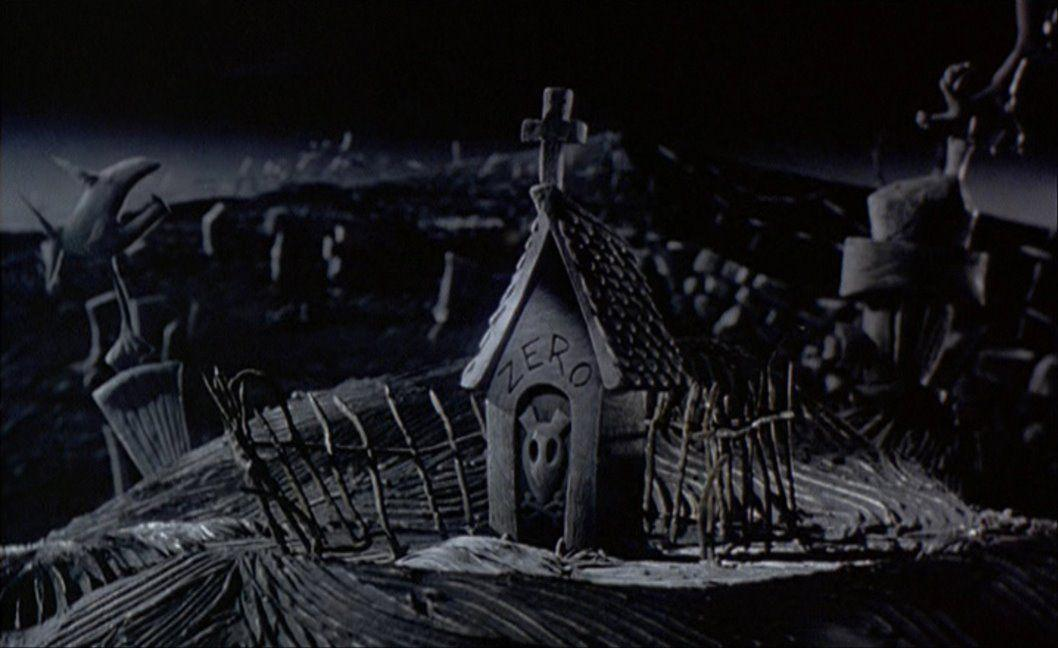 Empty Backdrop from The Nightmare Before Christmas