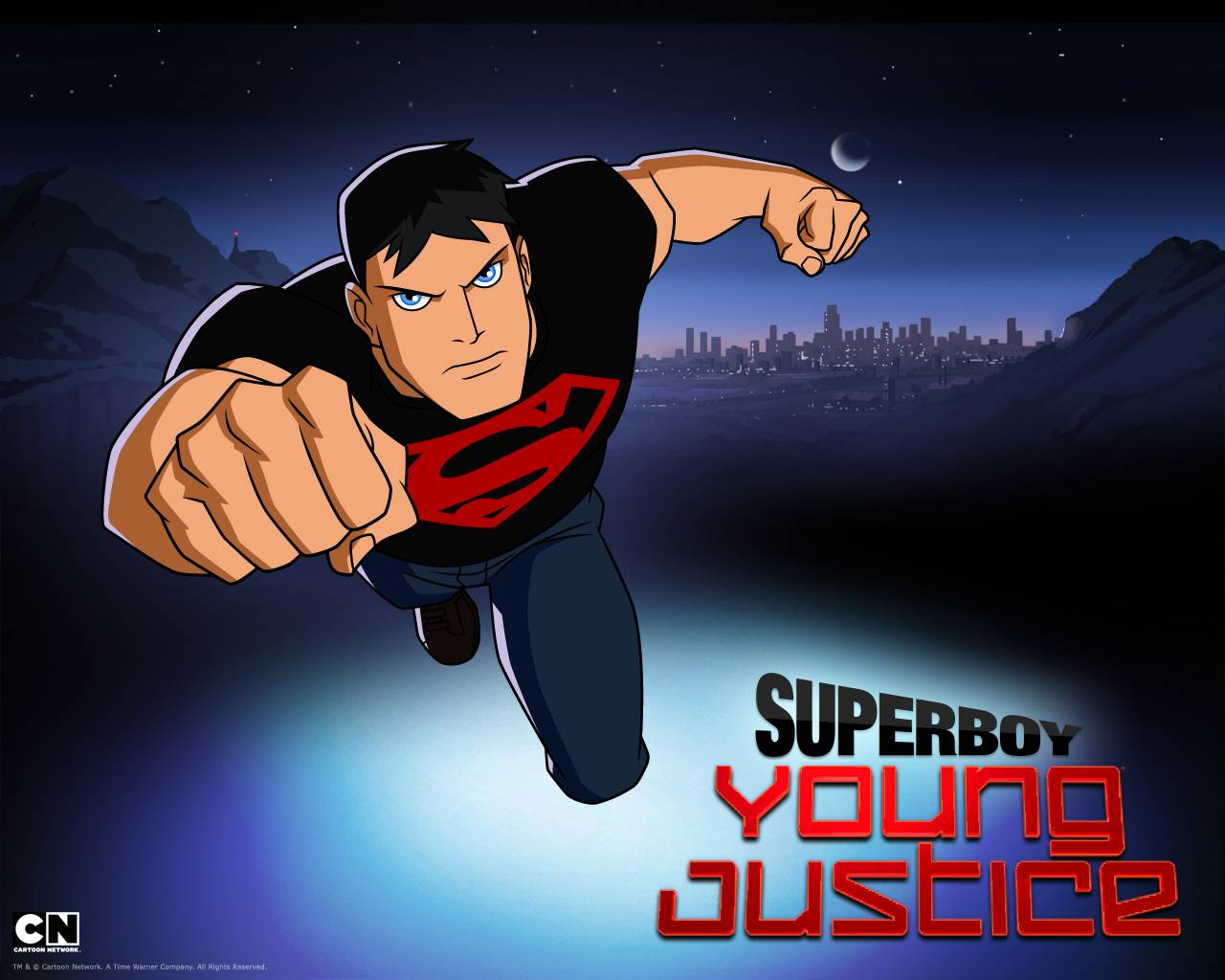 Superboy Wallpapers - Wallpaper Cave Young Justice Superboy Wallpaper