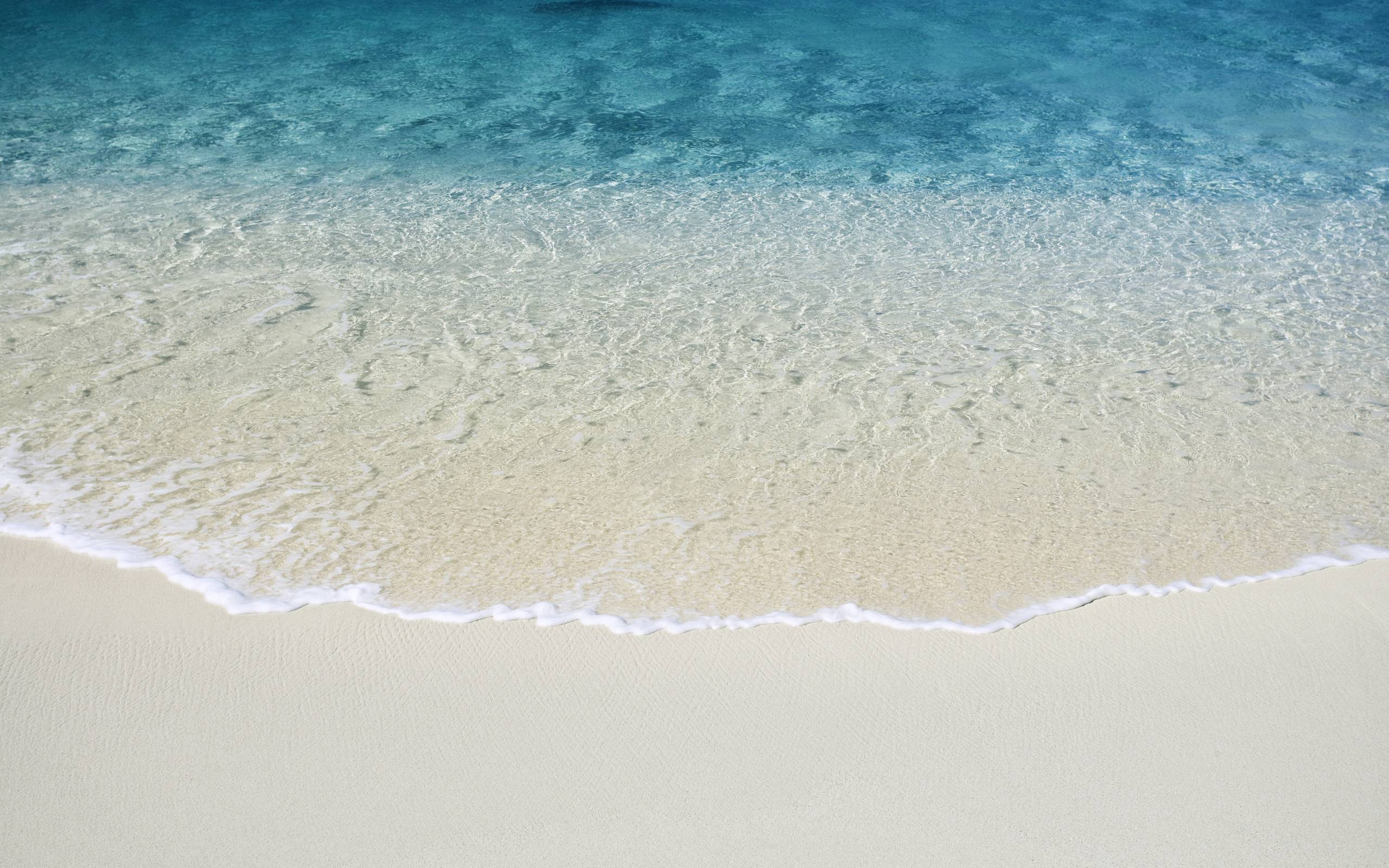 Ocean Water Wallpaper Beach Sand Sea