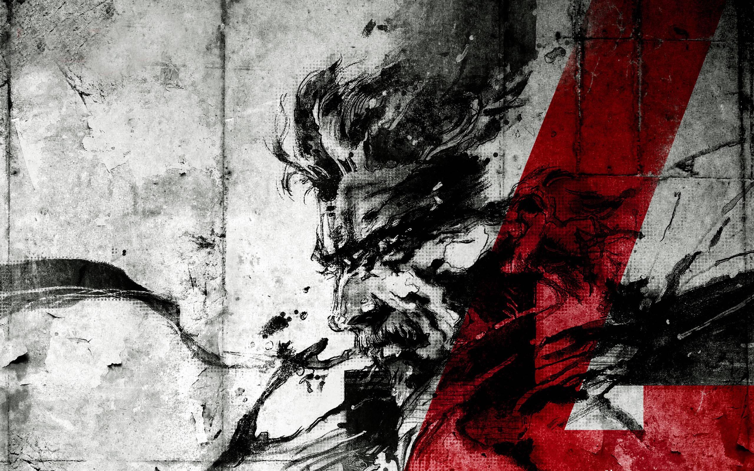 Metal Gear Solid Wallpapers Wallpaper Cave