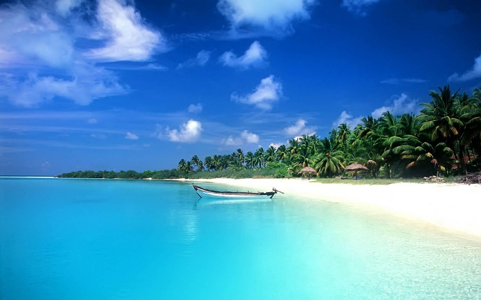 tropical beach desktop wallpapers 1600×1000