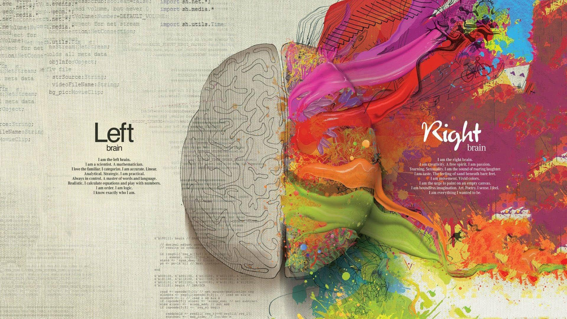 Left and Right Brain HD Wallpapers » FullHDWpp