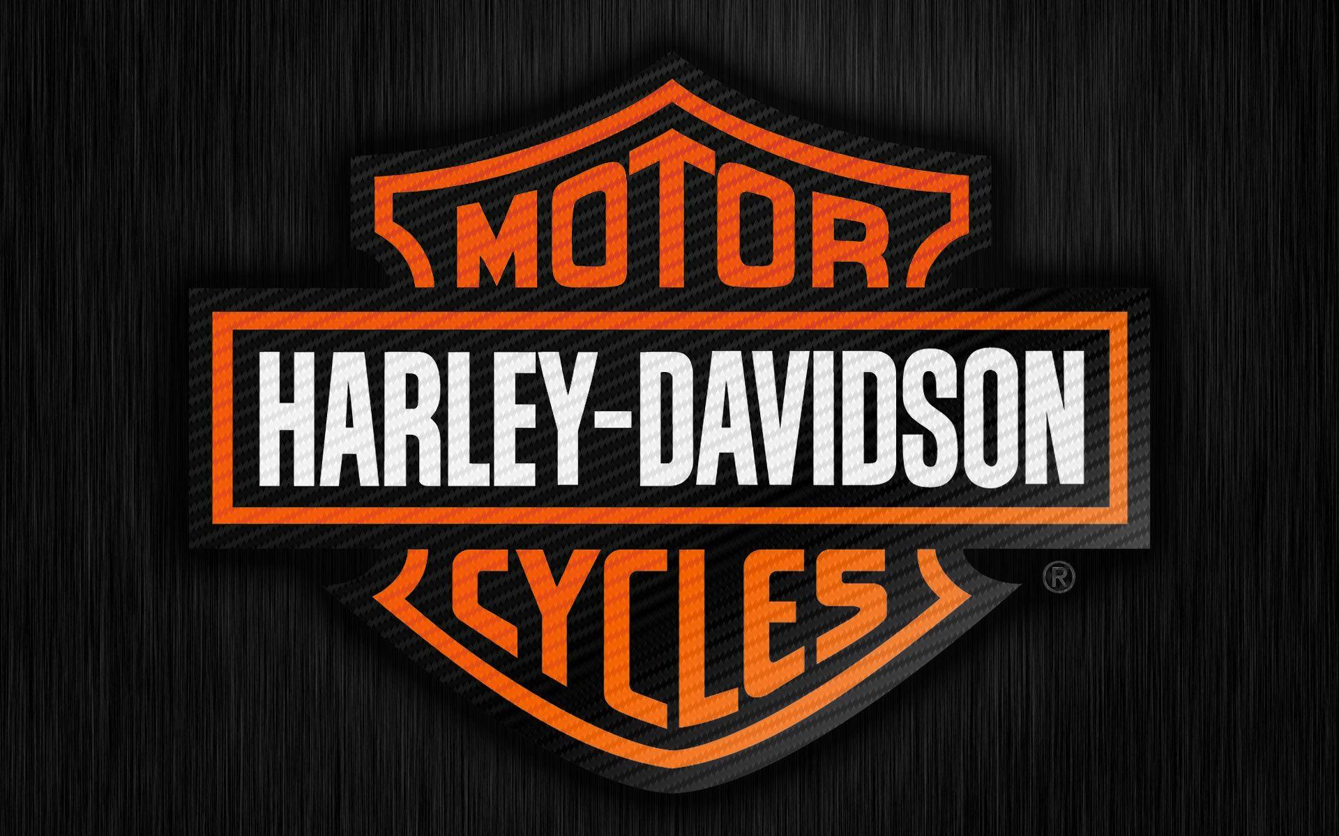 newest harley davidson logo wallpapers -#main