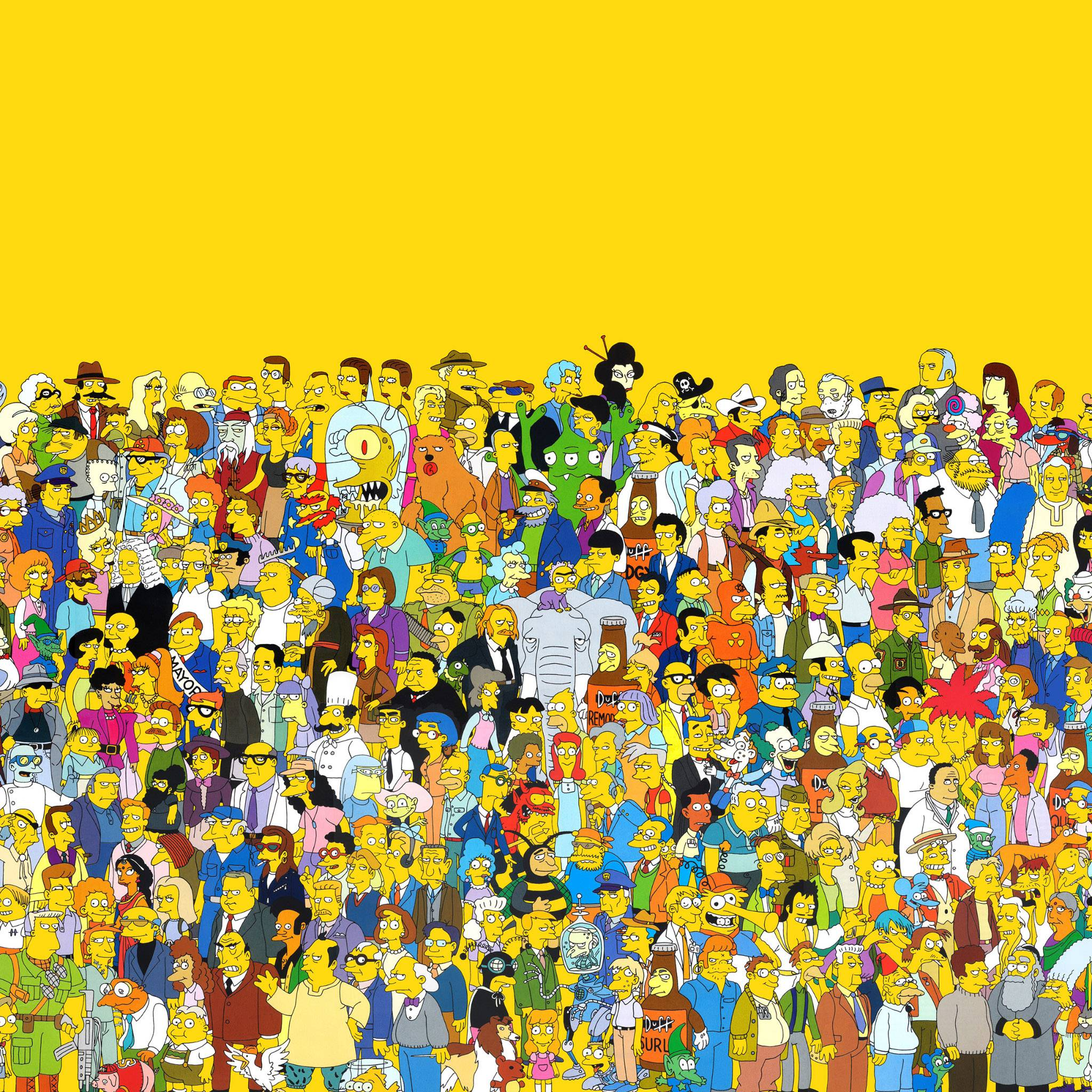Wallpaper iphone simpsons - Freeios7 The Simpsons Parallax Hd Iphone Ipad Wallpaper