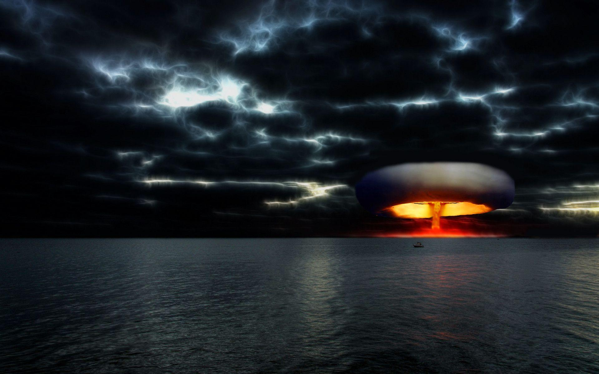 Nuclear Bomb Explosion Wallpaper Images & Pictures - Becuo